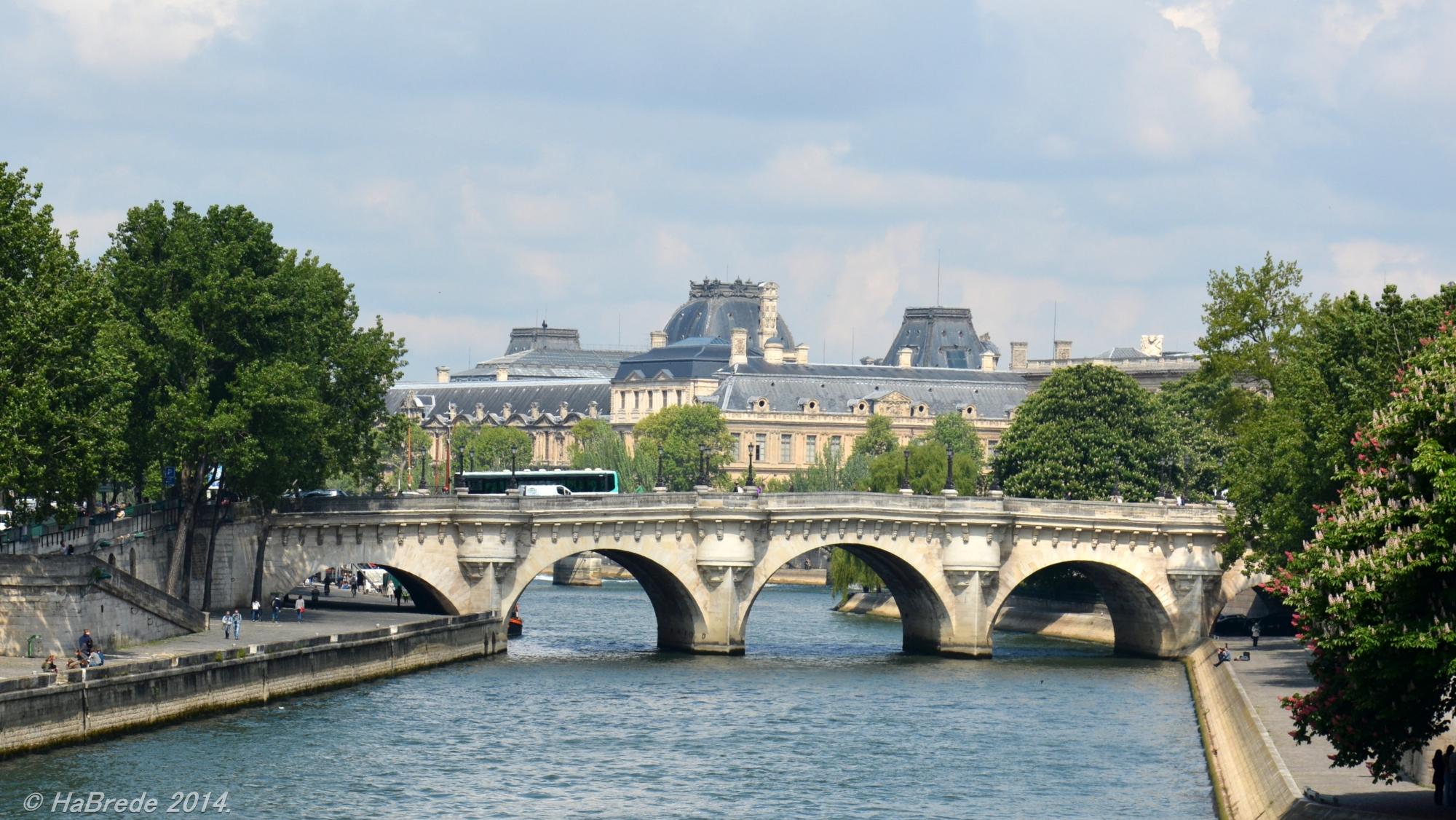 Paris - Pont Neuf, France