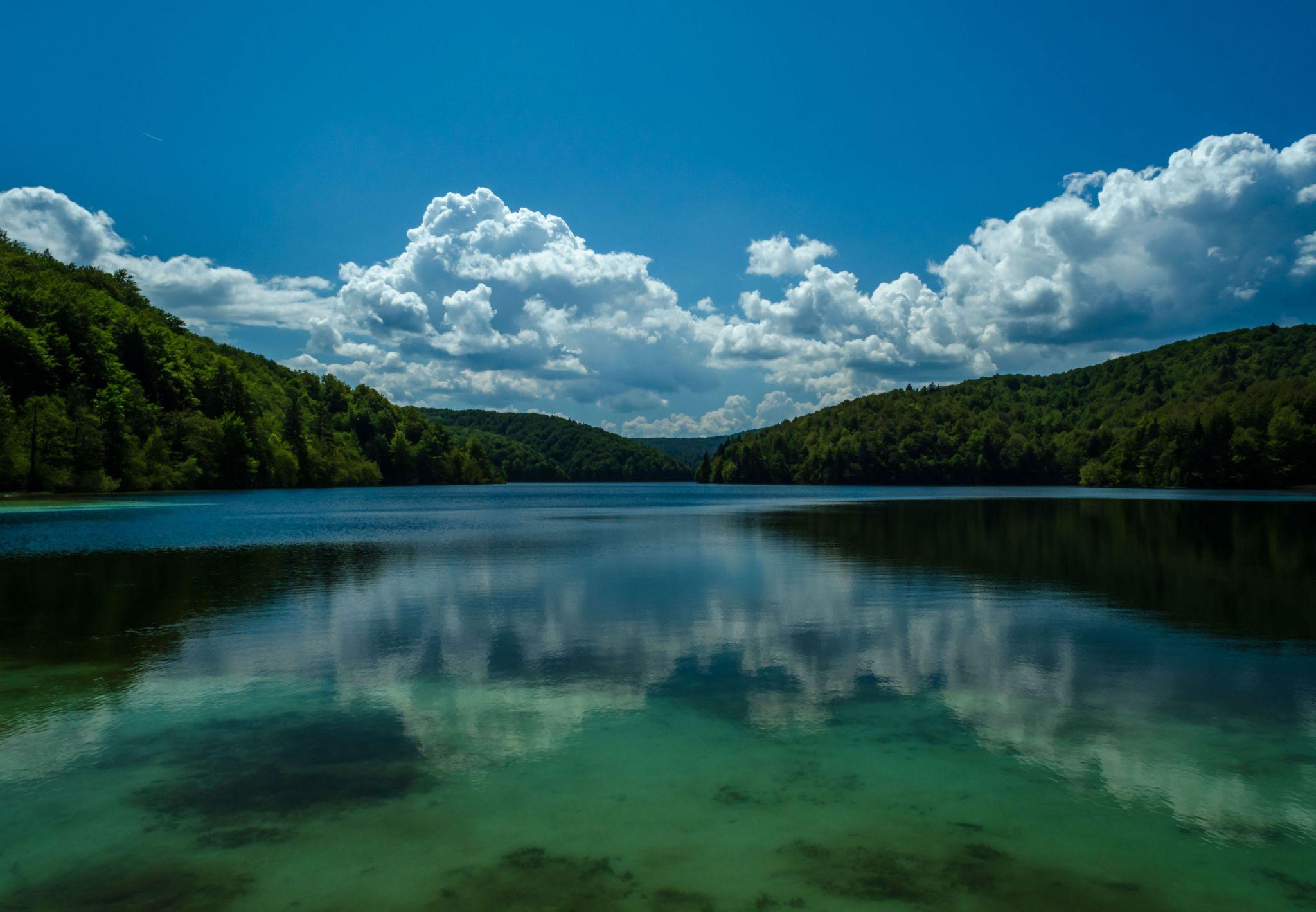 Plitvice Lakes Reflections, Croatia