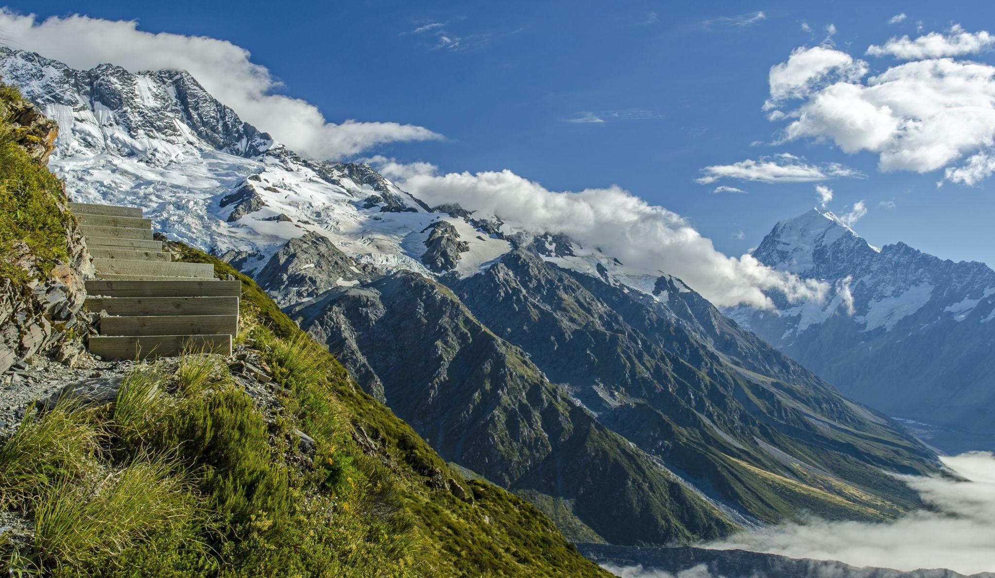 Sealy Tarn Track, New Zealand