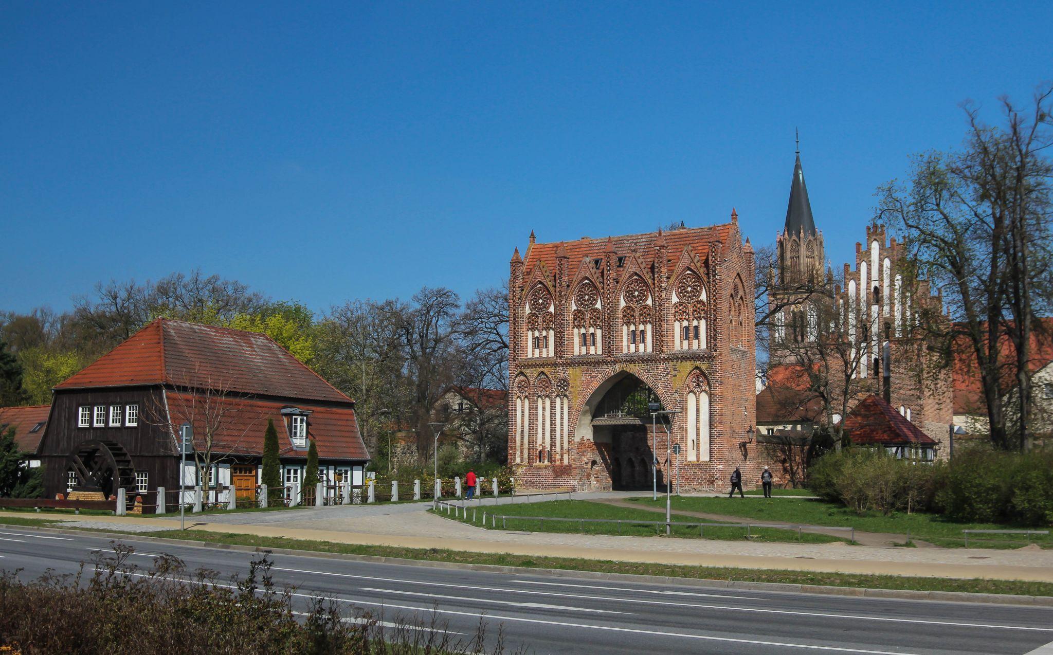 Stargarder Gate, Neubrandenburg, Germany