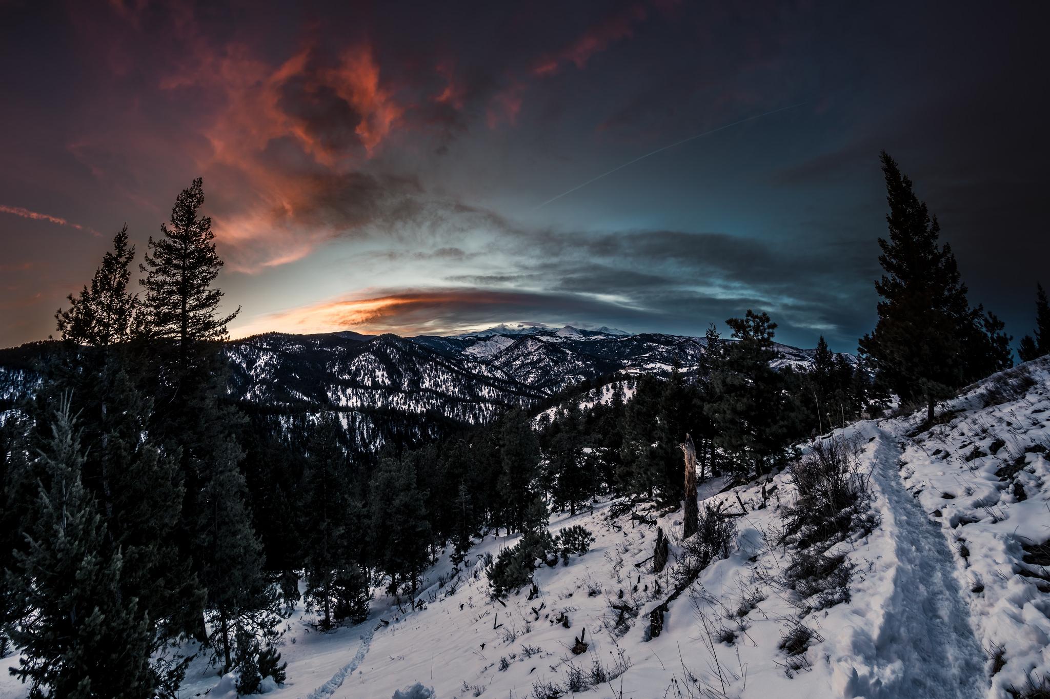 TenderFoot Trail Sunset, USA