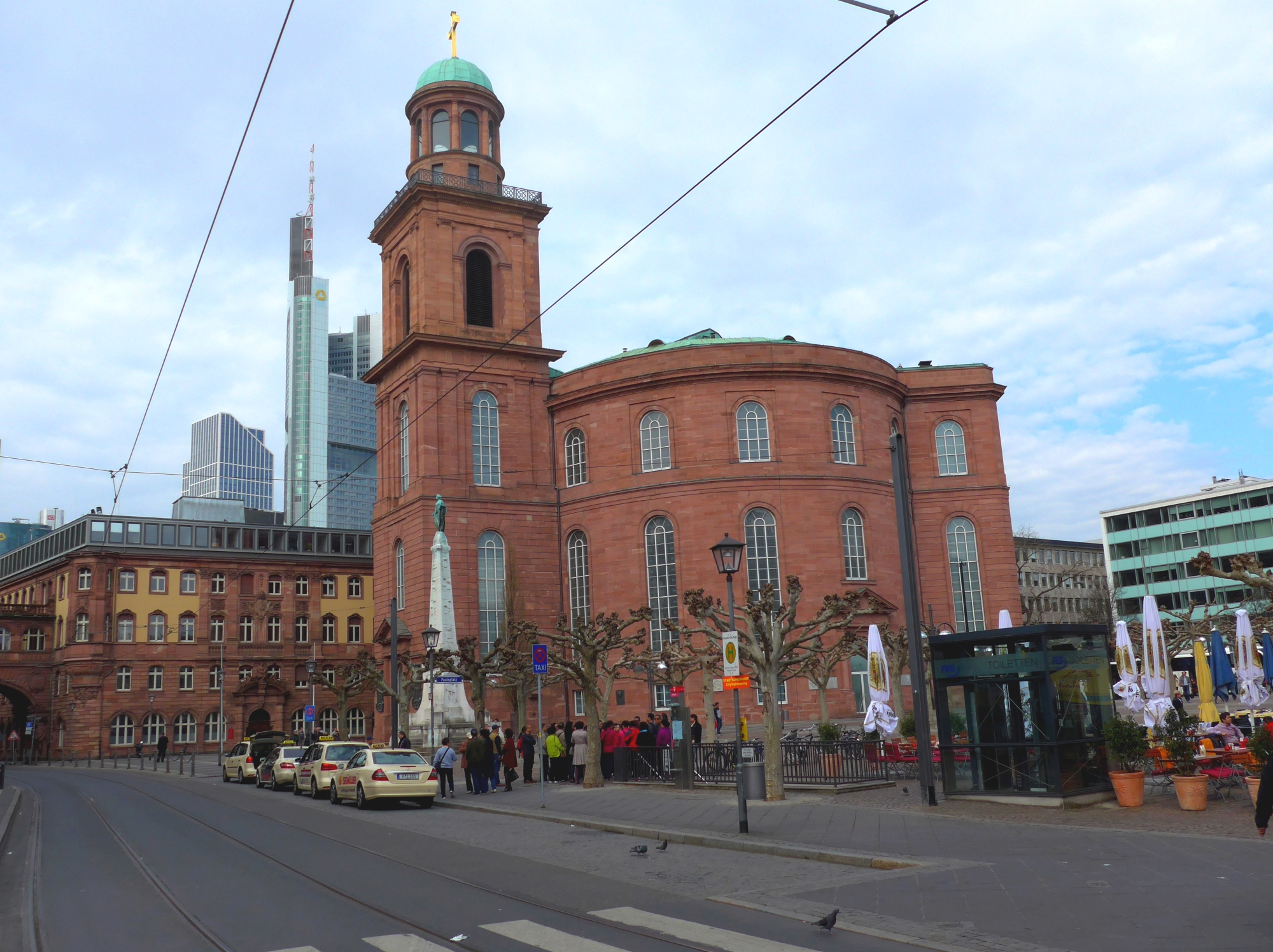 The Paulskirche in Frankfurt/M, Germany