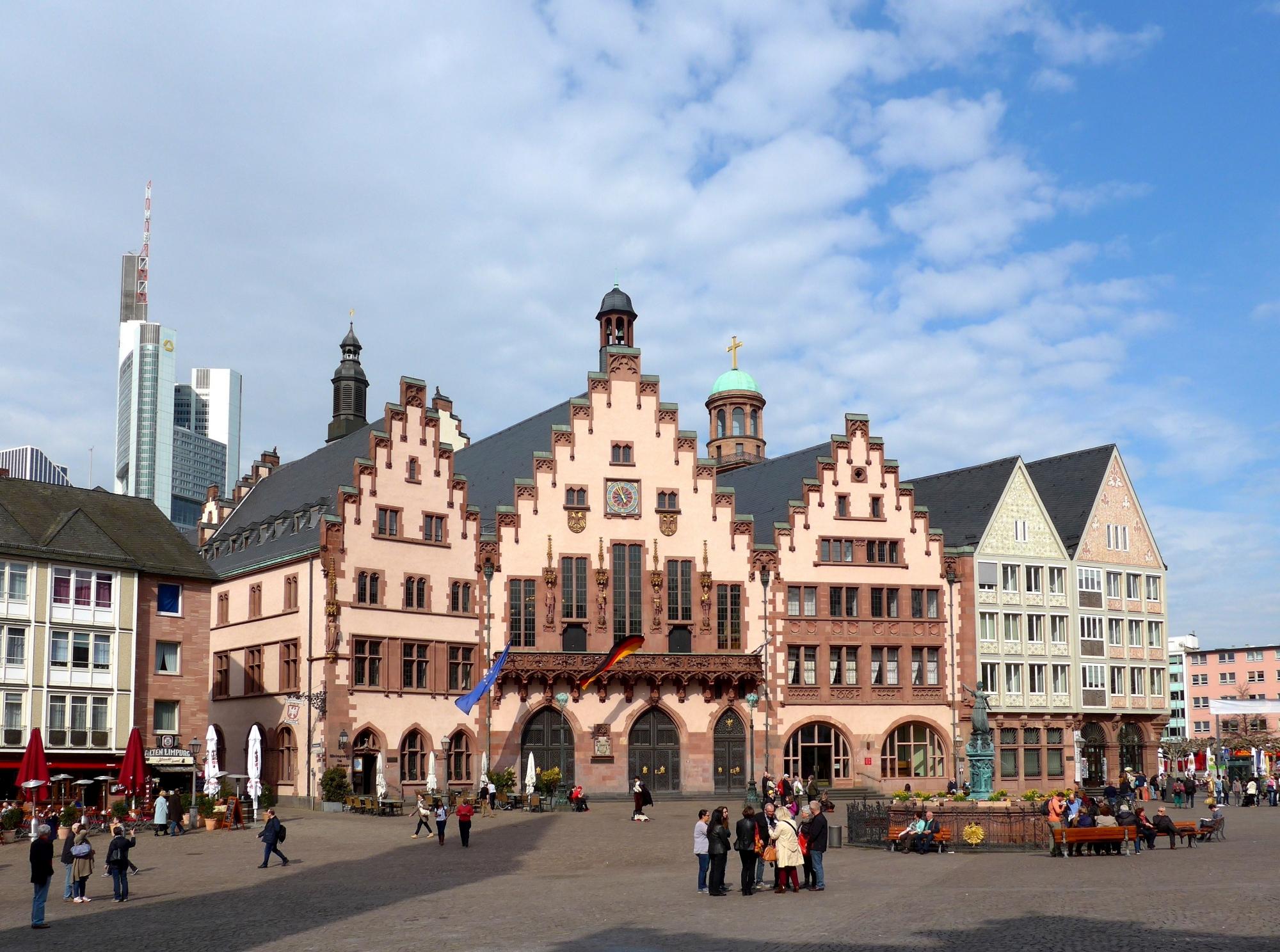 The Römer Building in Frankfurt am Main, Germany