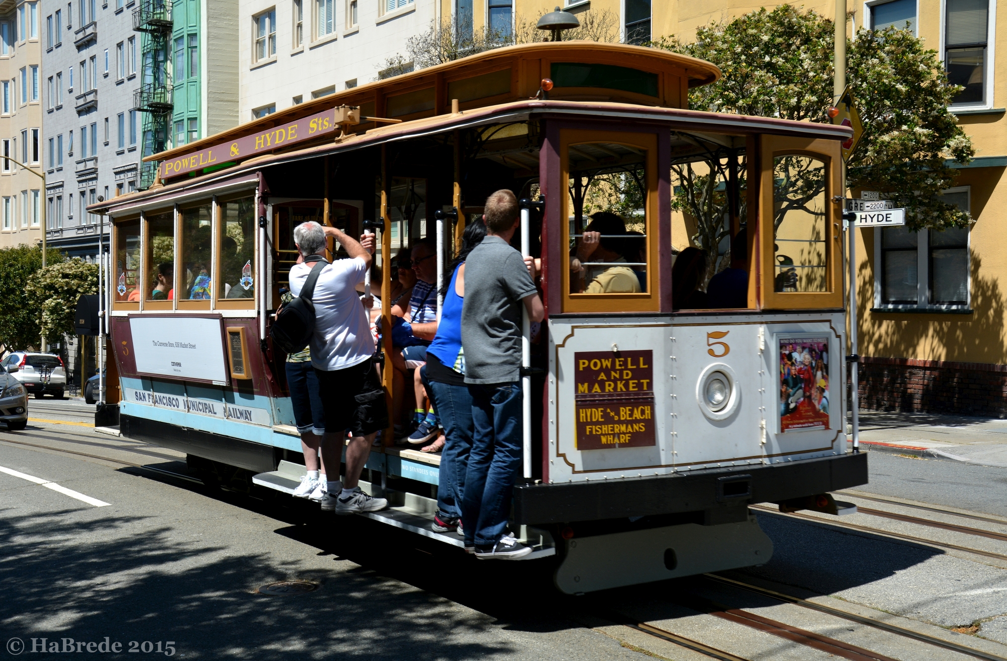 The San Francisco Cable Car, USA
