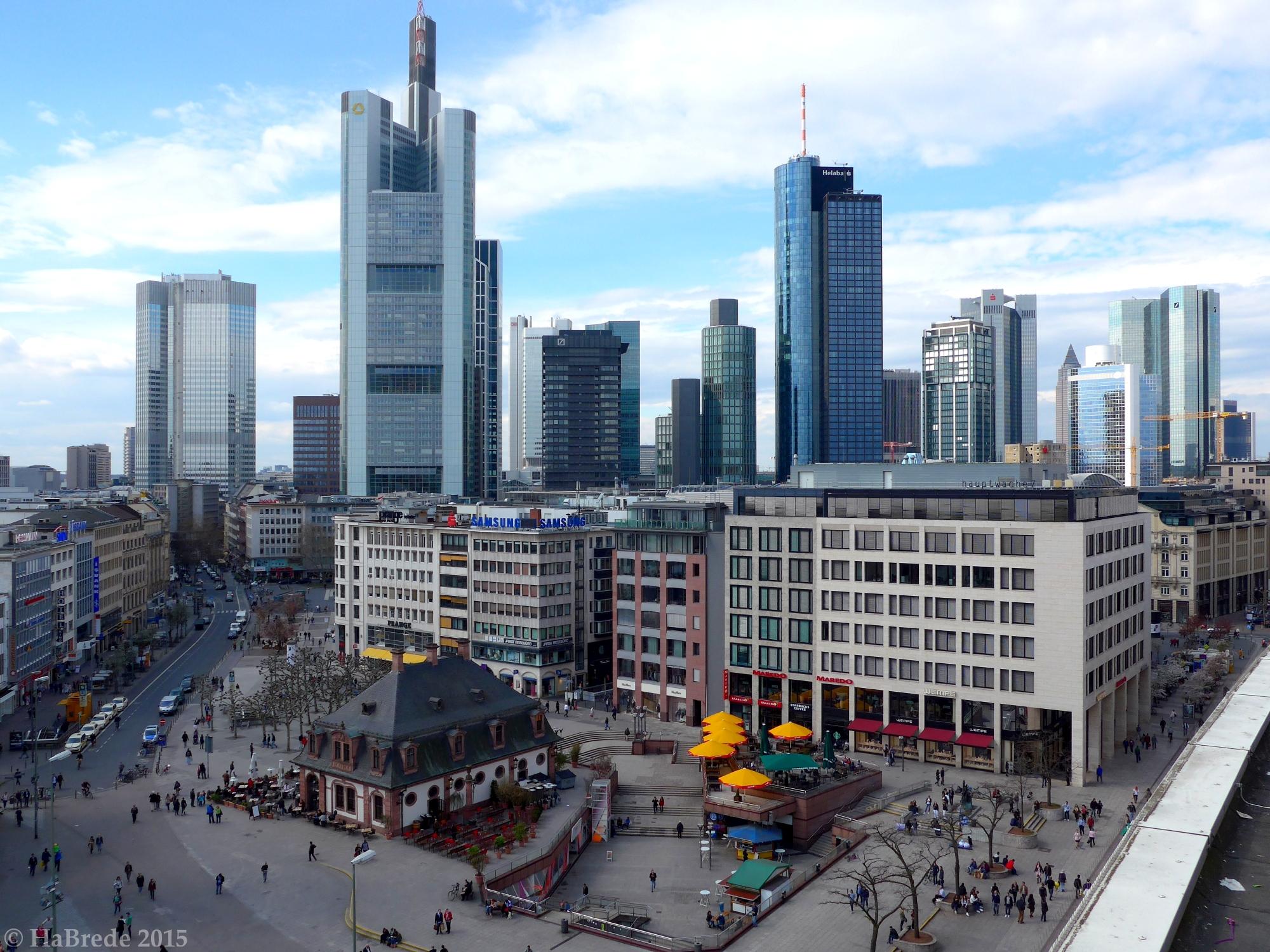 The Skyline of Frankfurt/M City, Germany