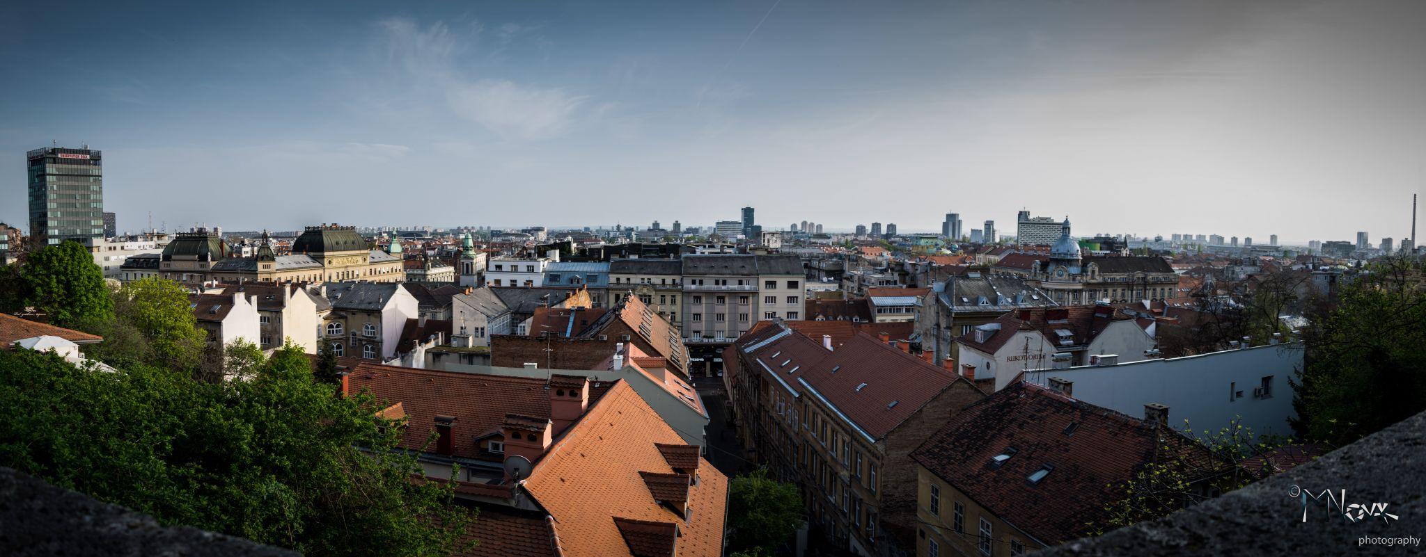 Zagreb Funicular viewpoint, Croatia