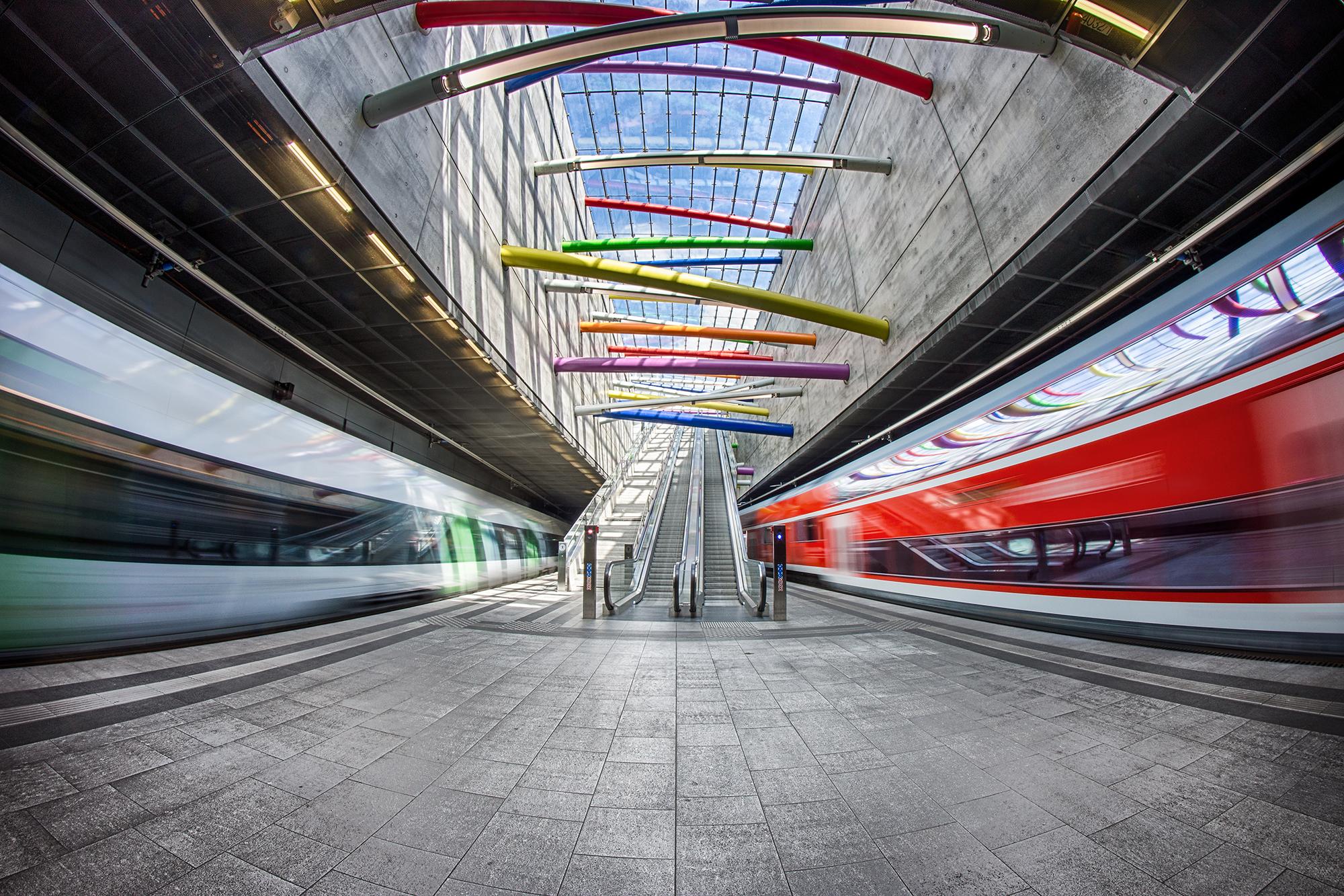 Bayerischer Bahnhof Leipzig, Germany