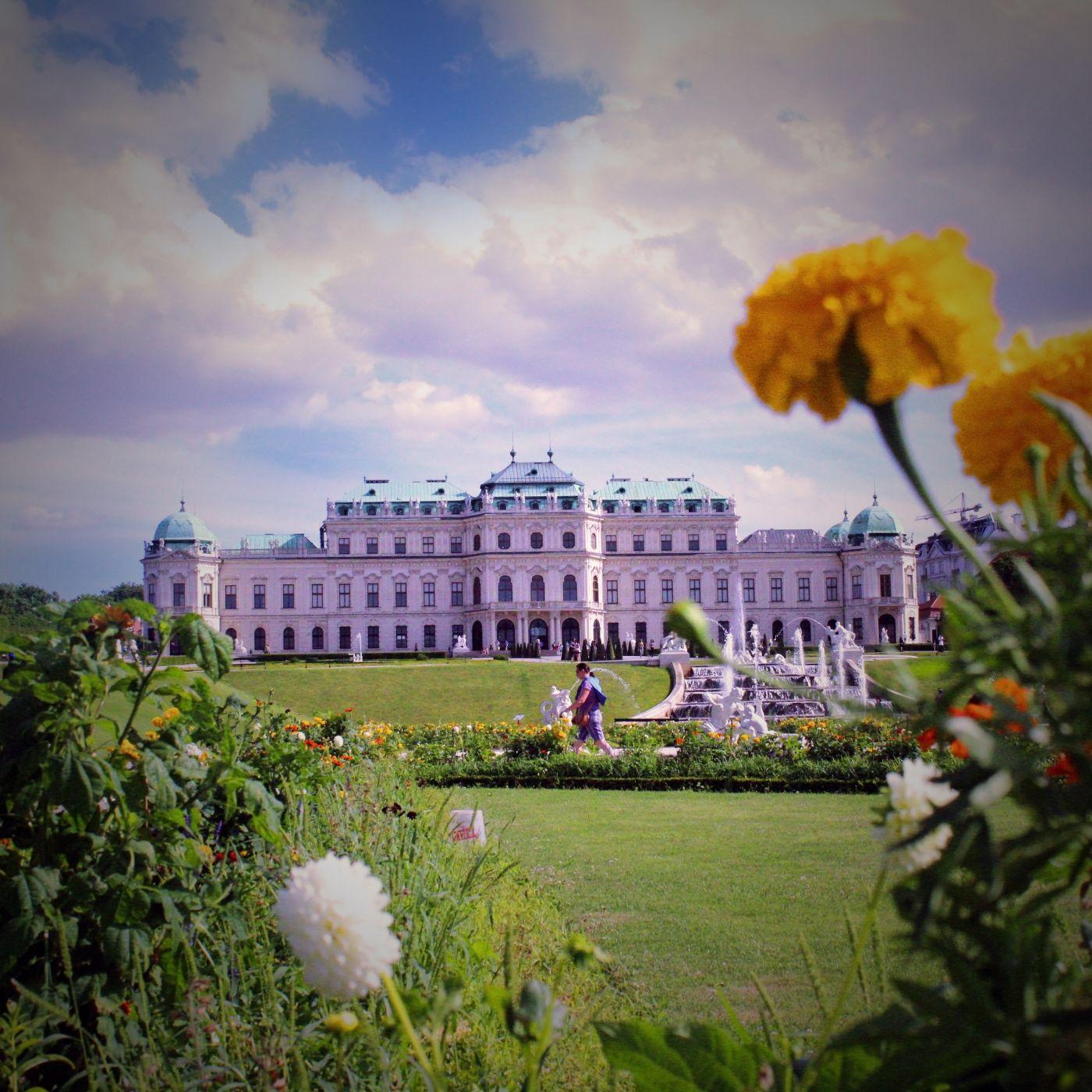 Belvedere Garden, Austria