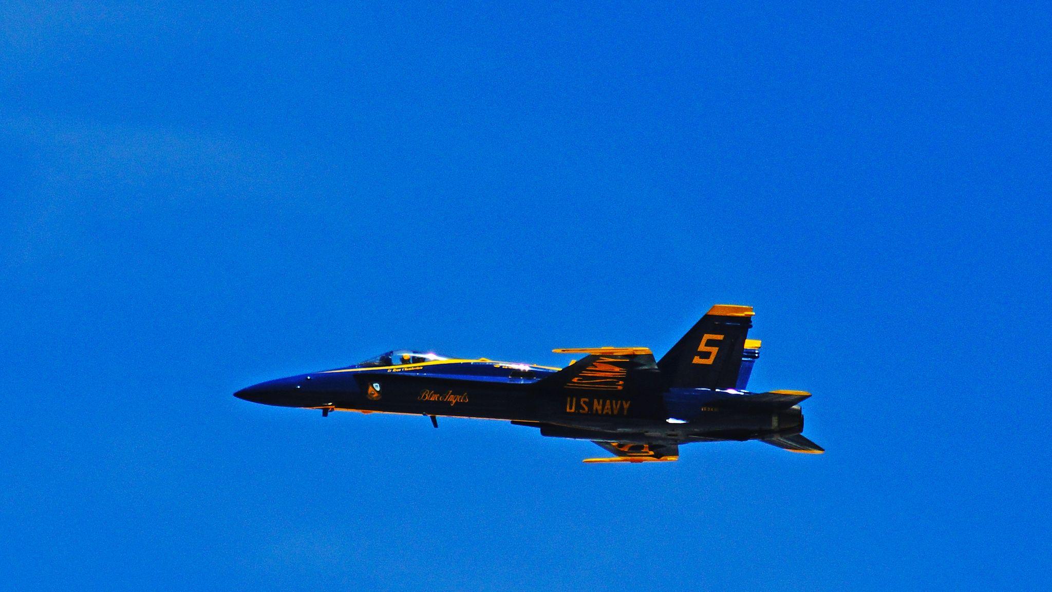 Blue Angels Air Show @ Pensacola Beach, USA