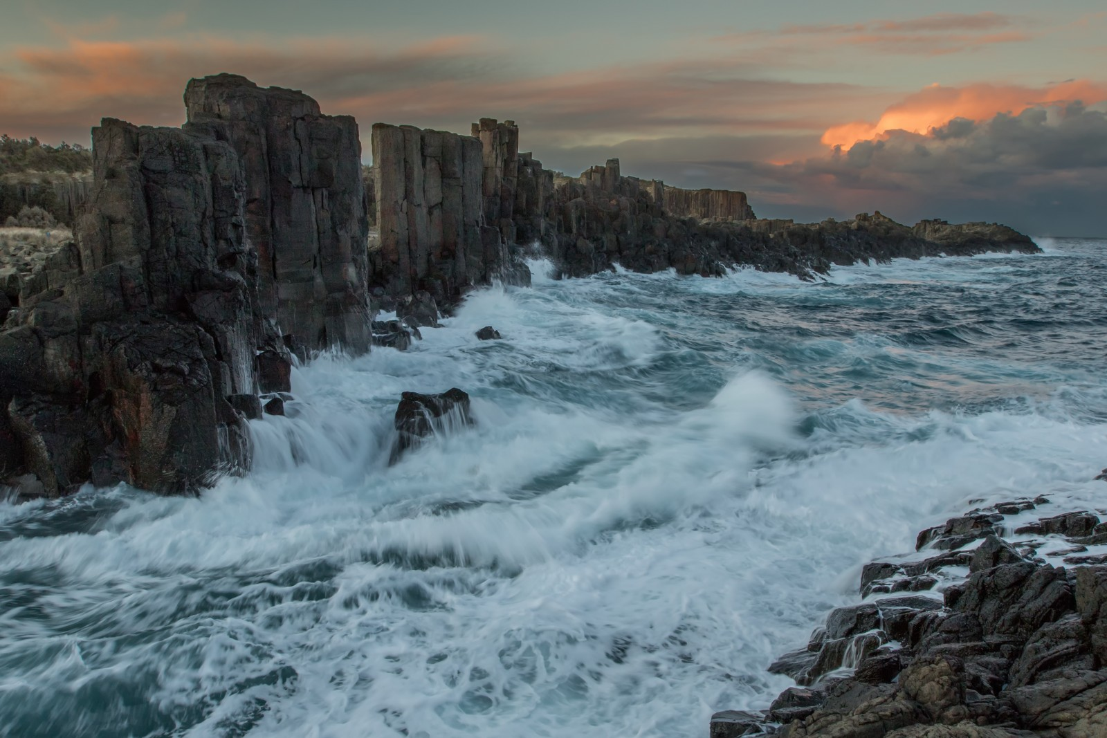 Bombo Quarry, Kiama, New South Wales, Australia