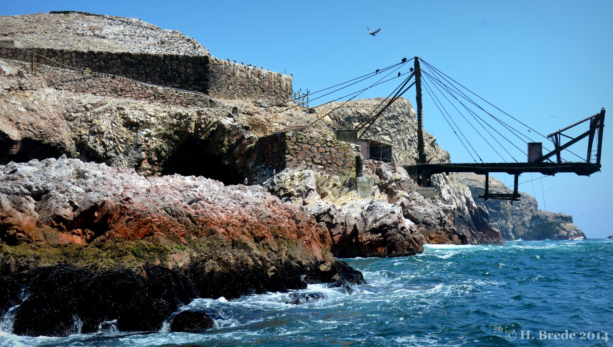 Bridge on Playa Atenas, Peru