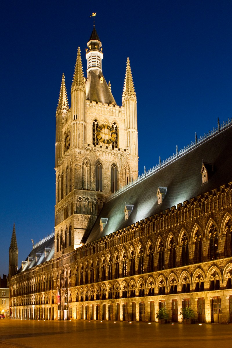Cloth Hall, Ypres (Ieper), Belgium
