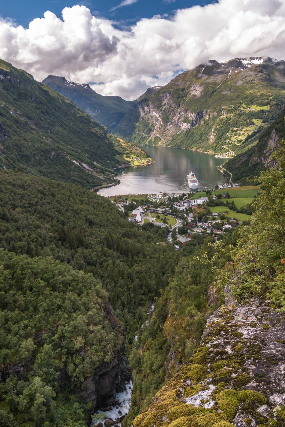 Geiranger Viewpoint, Norway