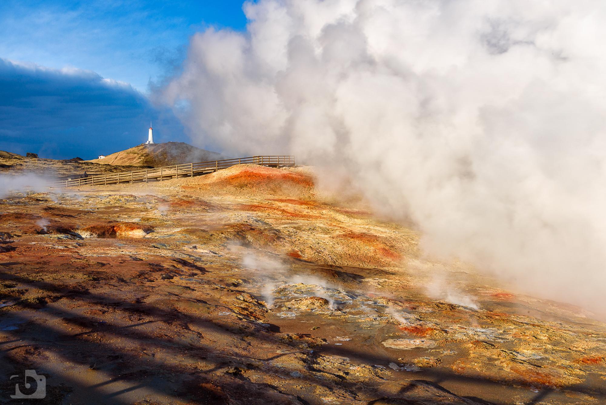 Gunnuhver hot spring, Iceland