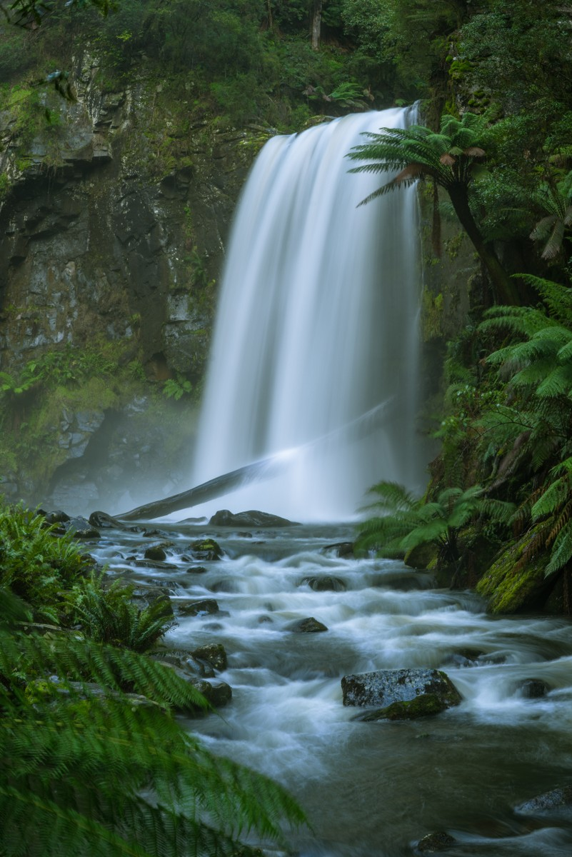 Hopetoun Falls, Beech Forest, Victoria, Australia