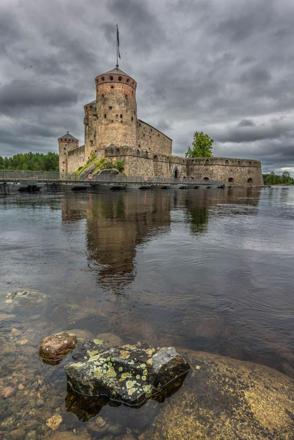 Olavinlinna medieval castle, Finland