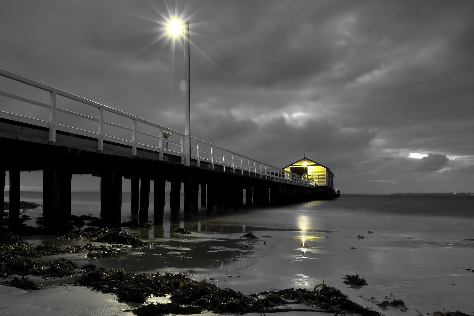 Queenscliff pier, Queenscliff, Victoria, Australia