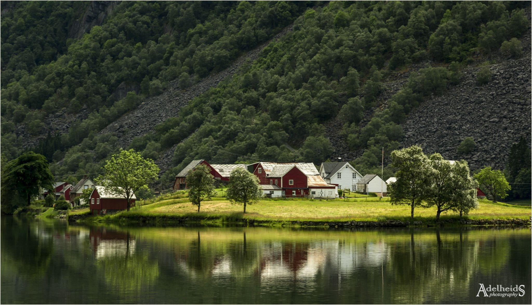 Sandvin farmstead, Norway
