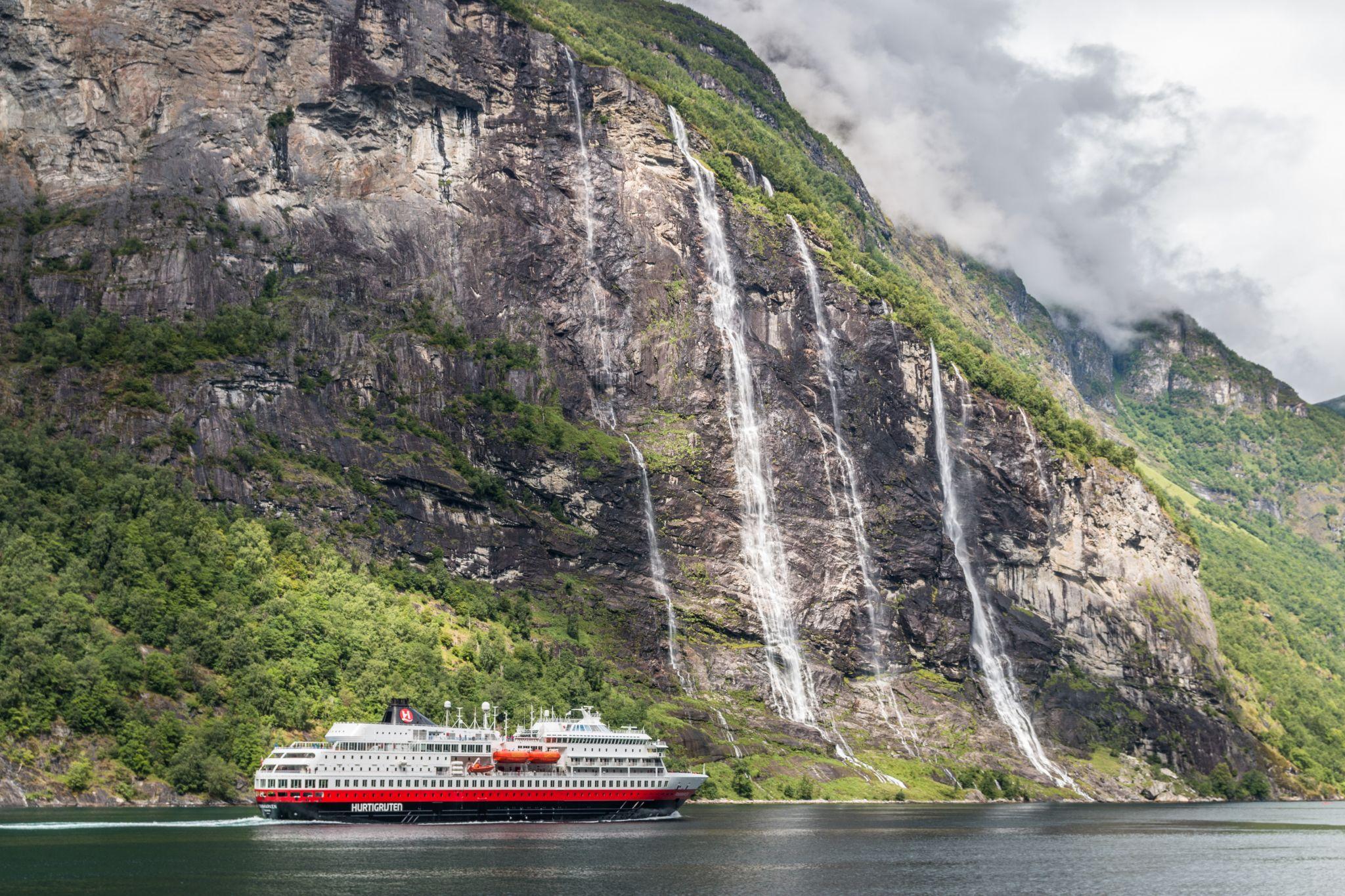 Seven Sisters, Geirangerfjorden, Norway
