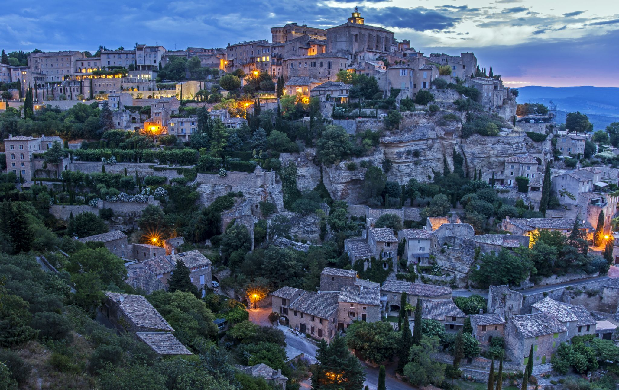 The Beautiful Village of Gordes, France