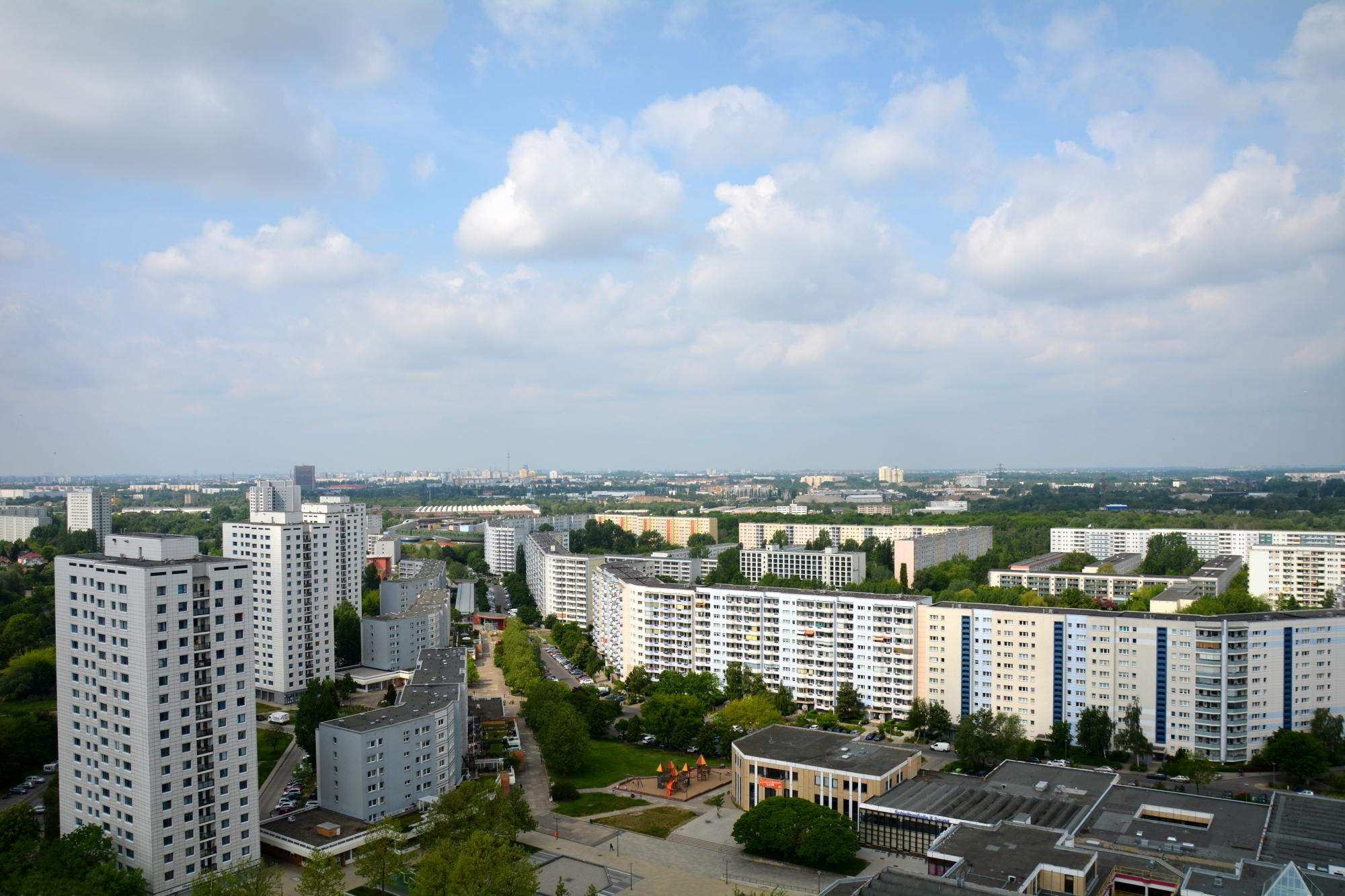 View from the Skywalk Marzahn, Germany