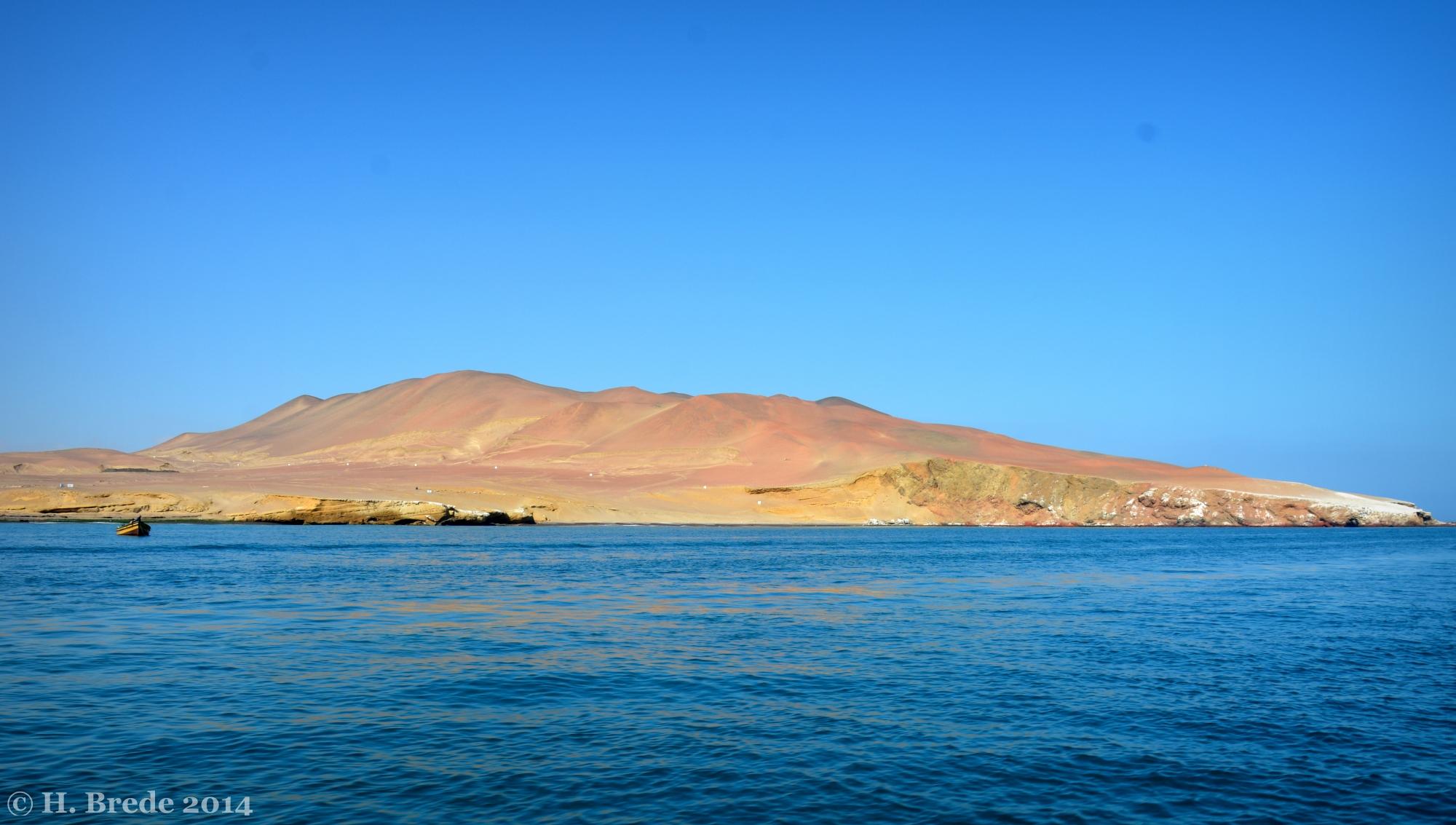 View on Playa Atenas in Peru, Peru
