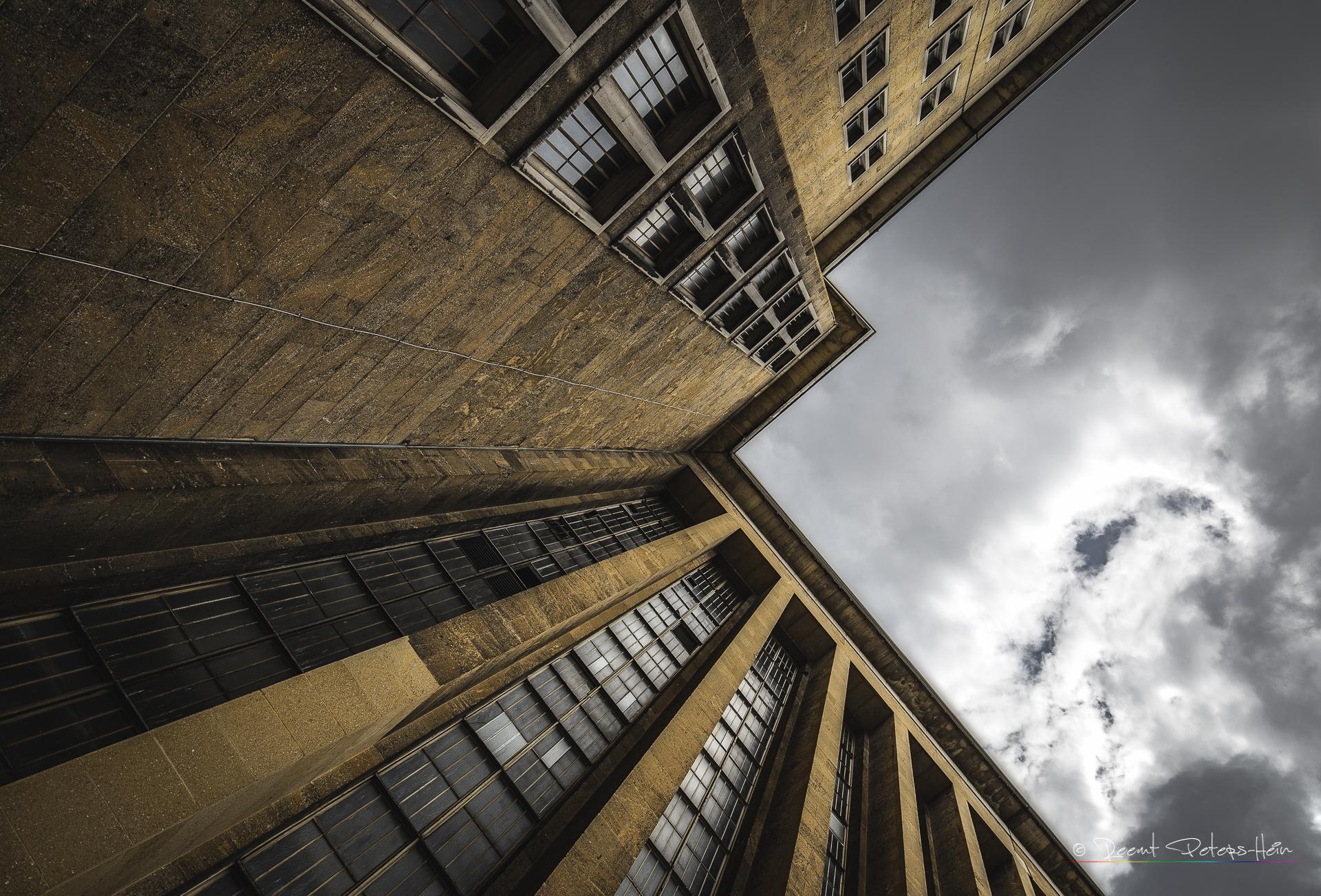 Windows of Tempelhof, Germany