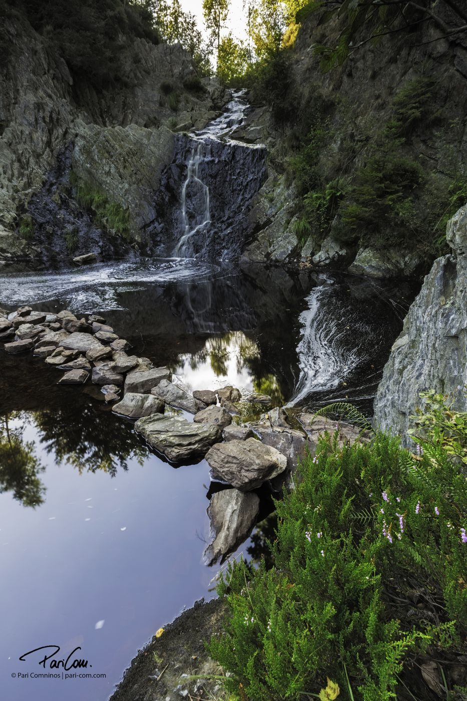 Cascade de Bayehon, Belgium