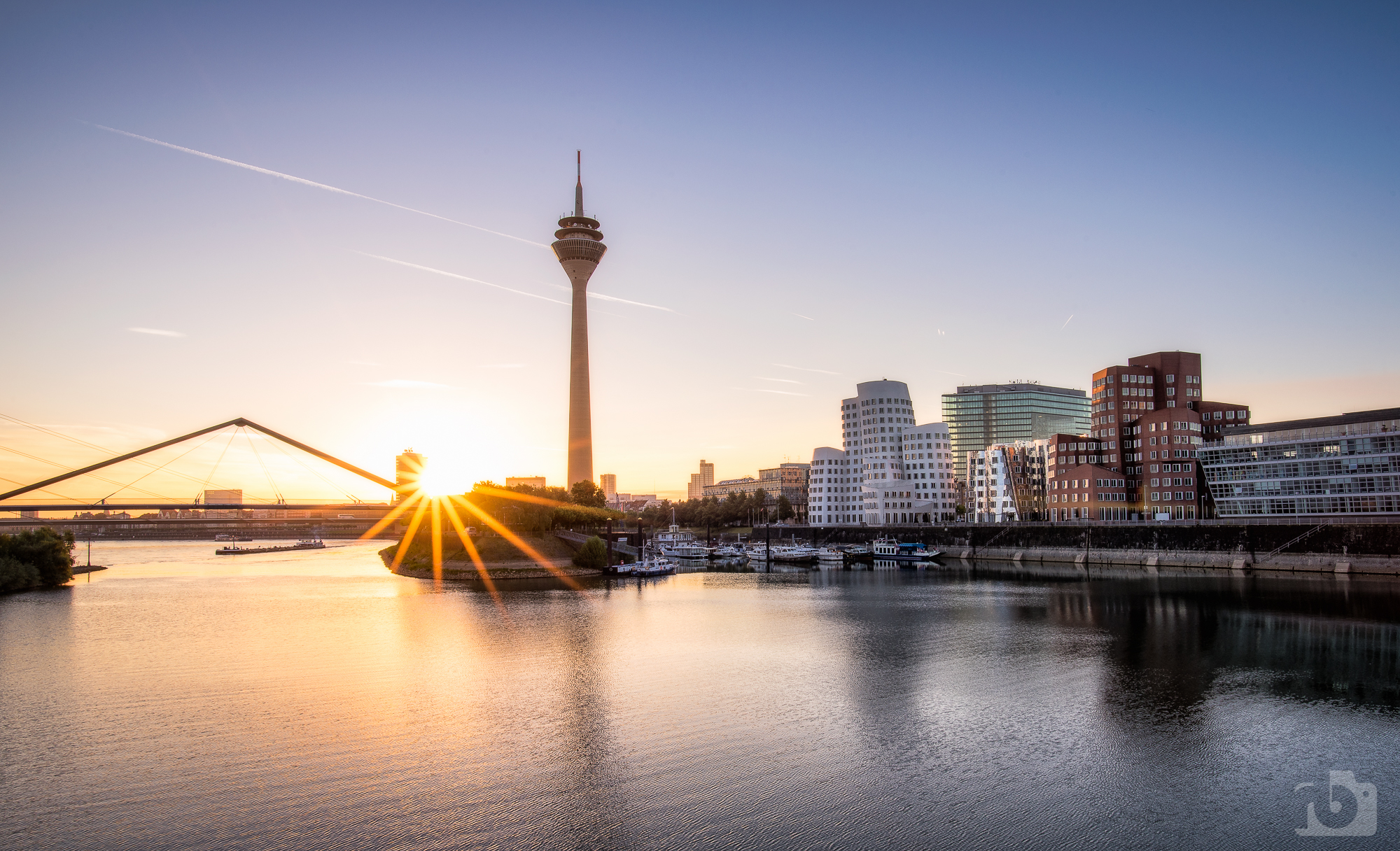 Düsseldorf awakes, Germany