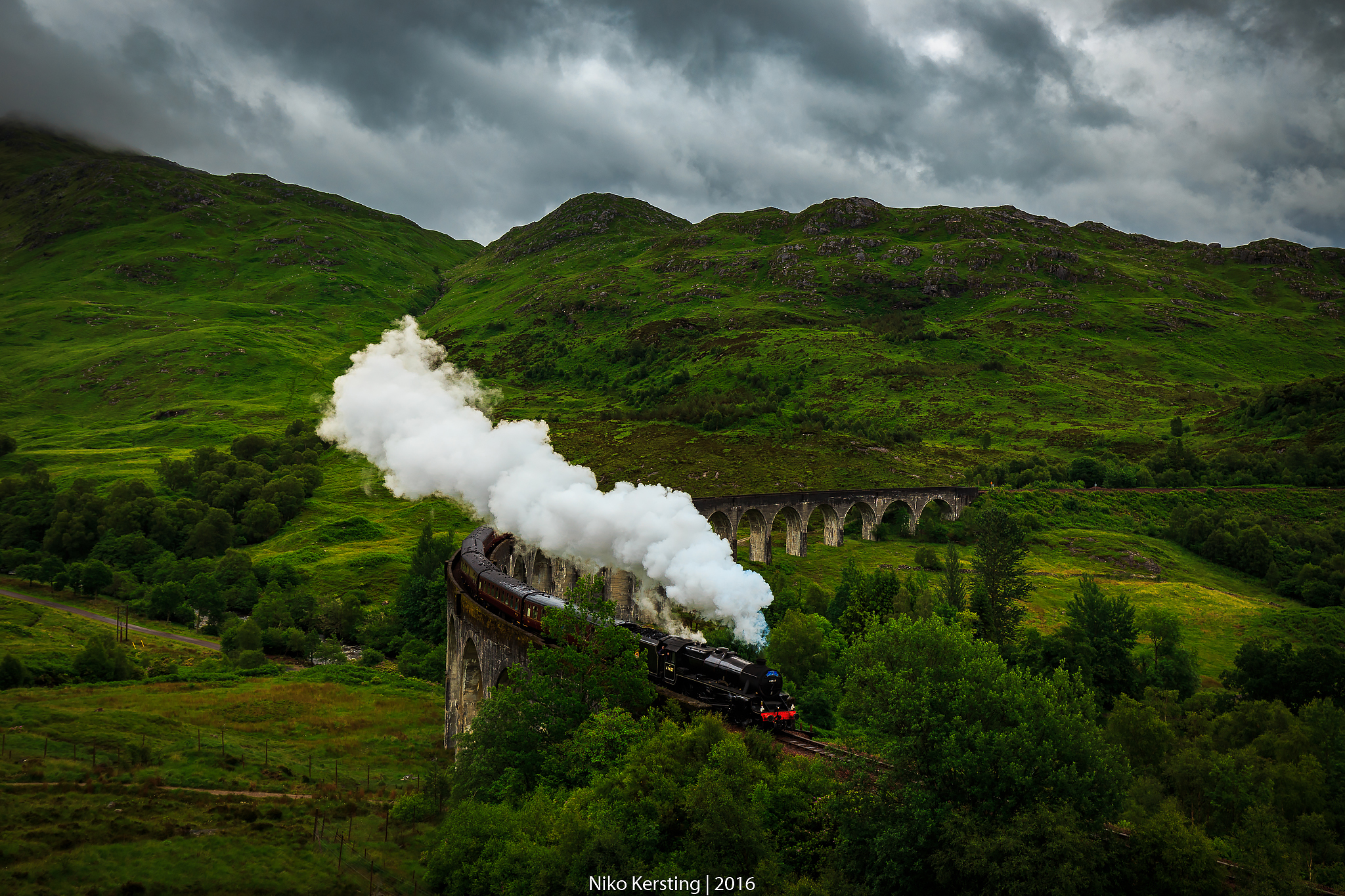 Glenfinnan Viaduct, United Kingdom