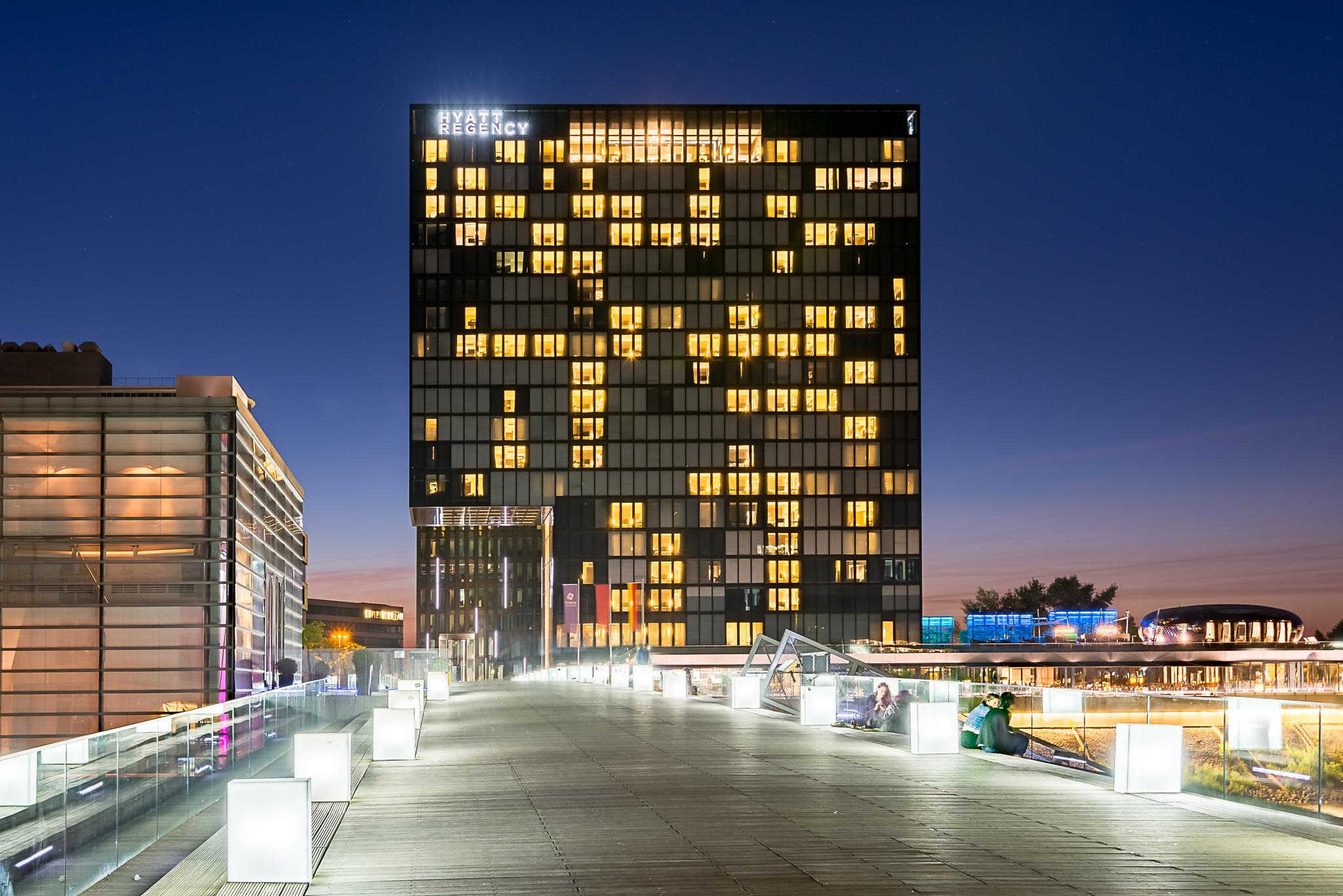 Hyatt Hotel in profile, Germany