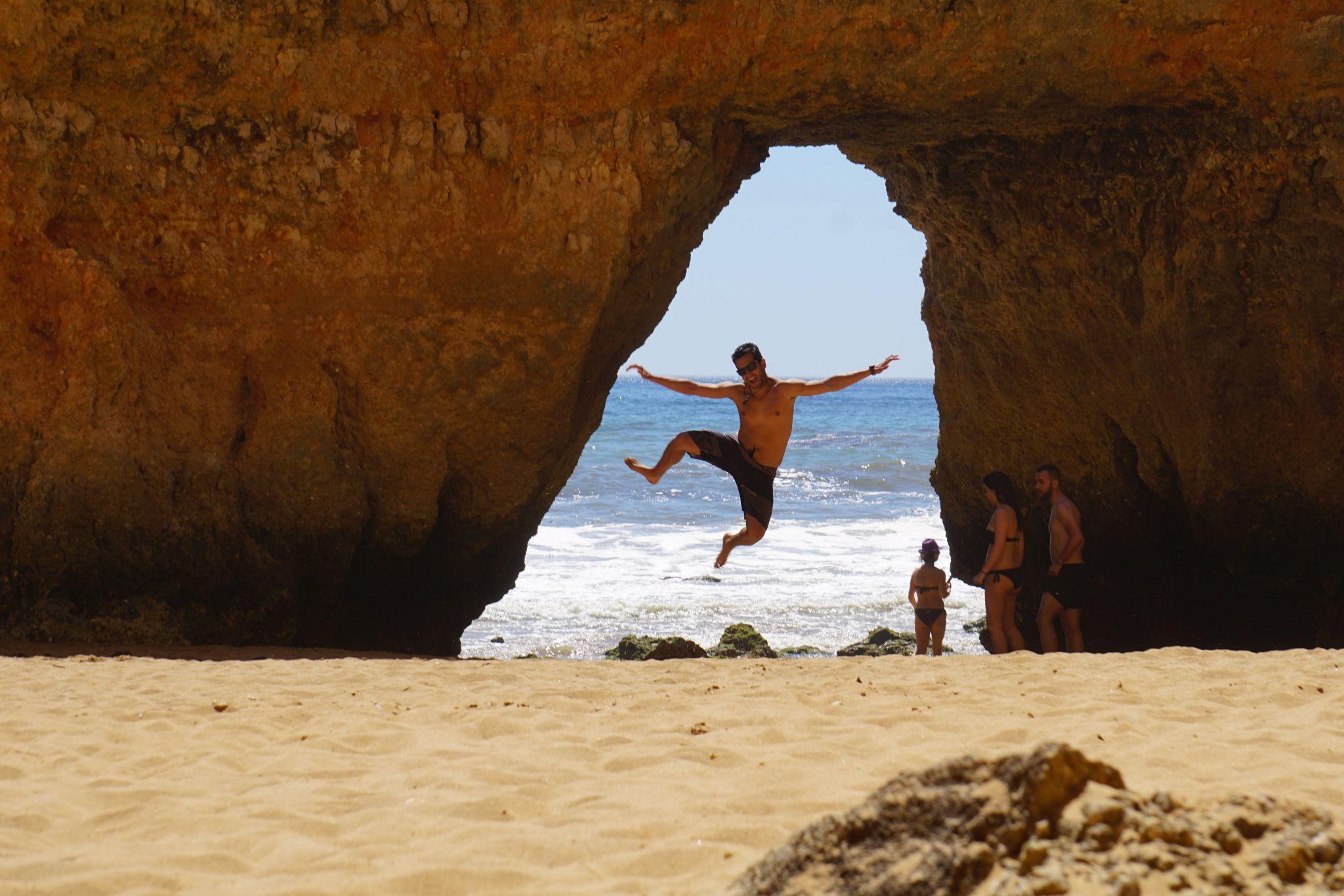Lagos beaches, Portugal