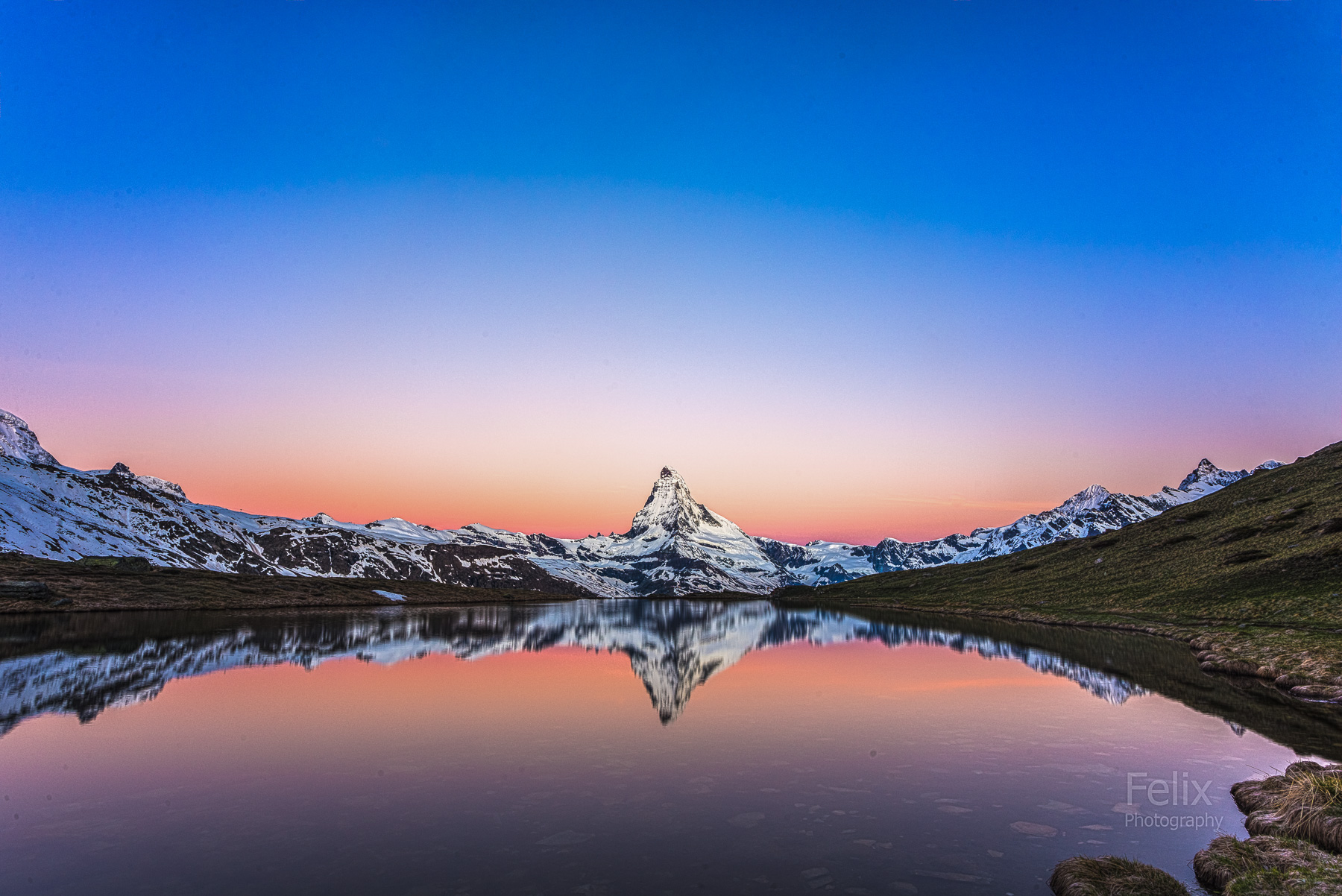 Morning with Matterhorn, Switzerland