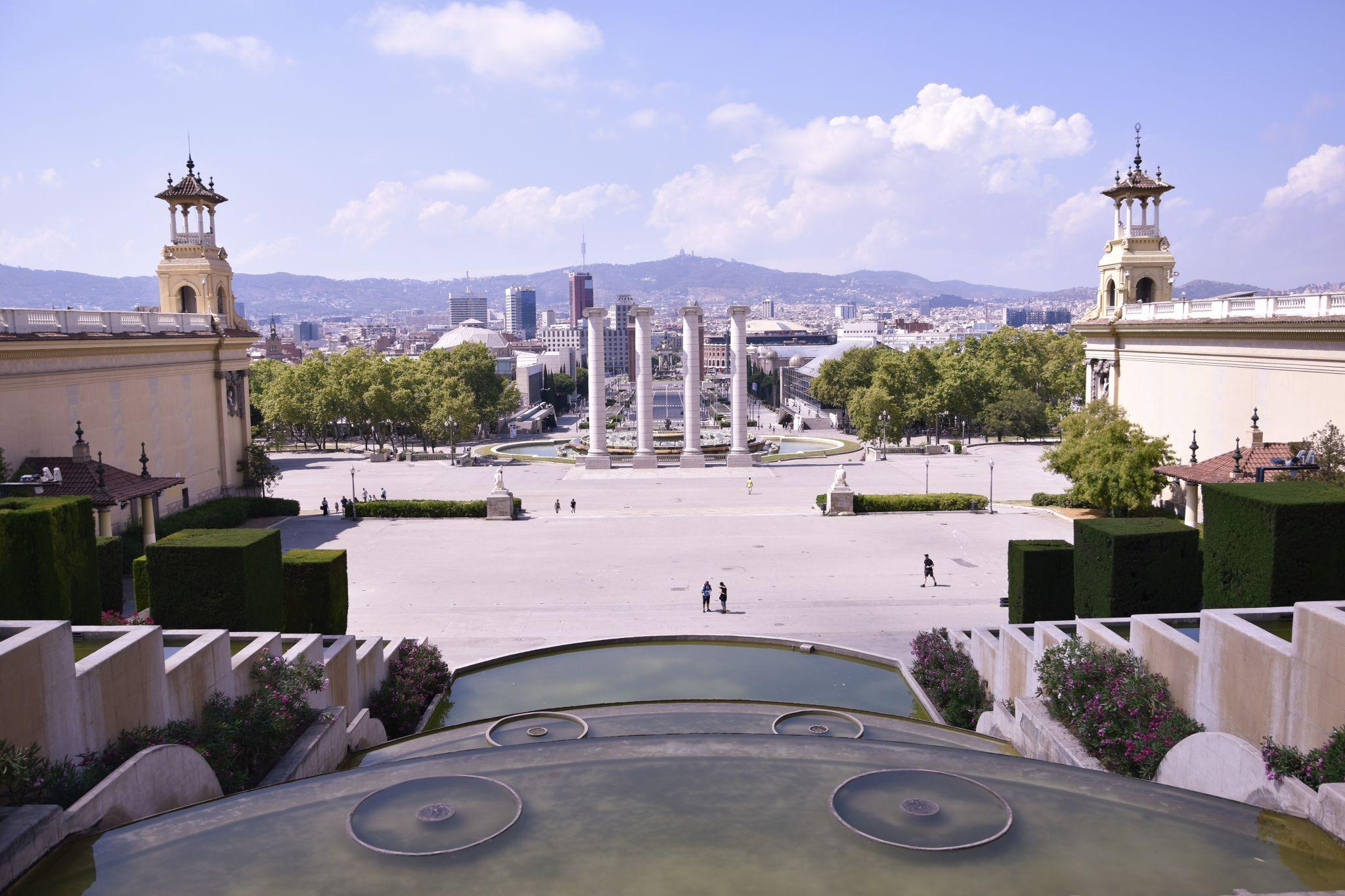 Plaça de les Cascades, Spain