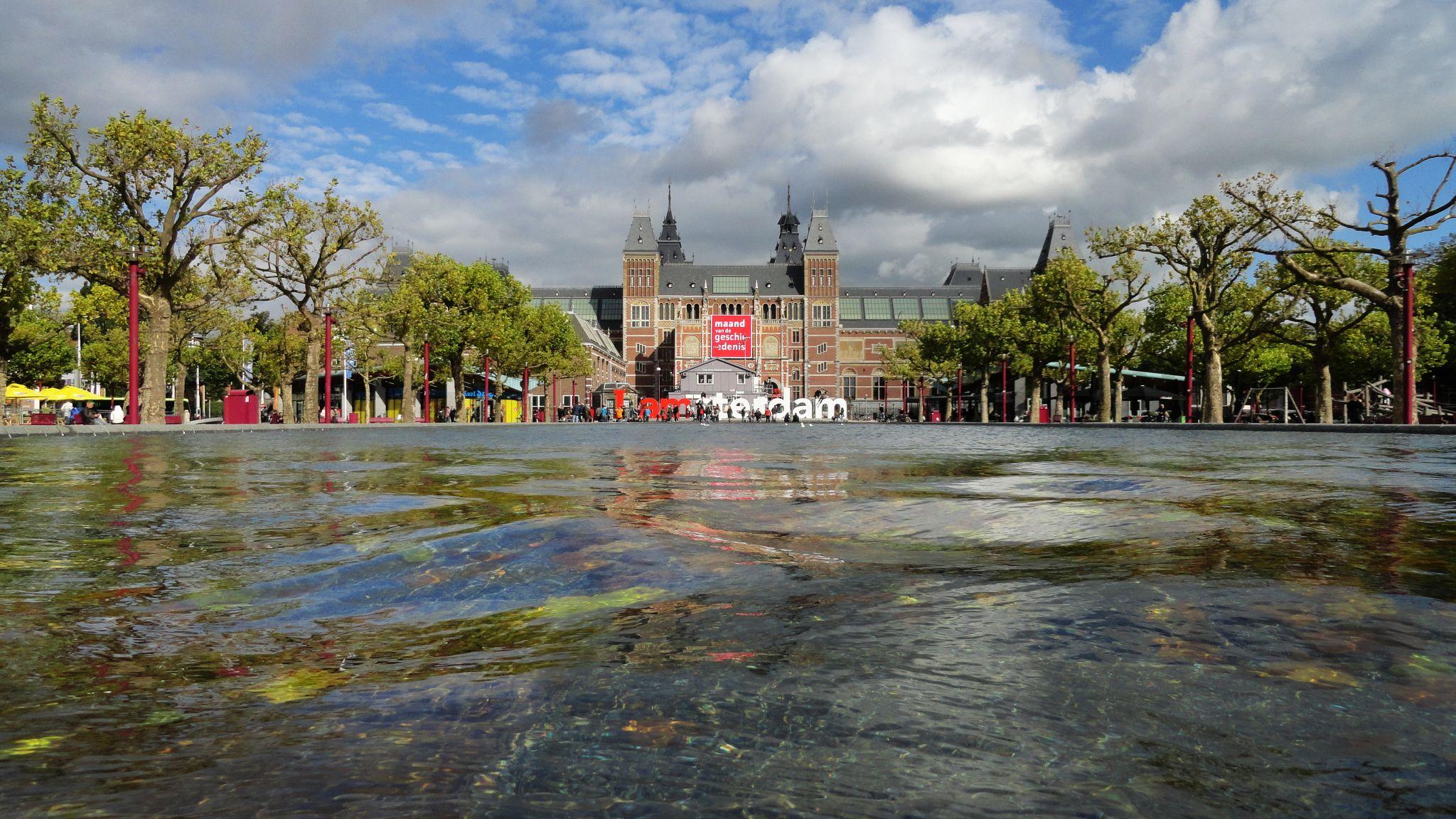Rijksmuseum Reflecting Pool, Netherlands