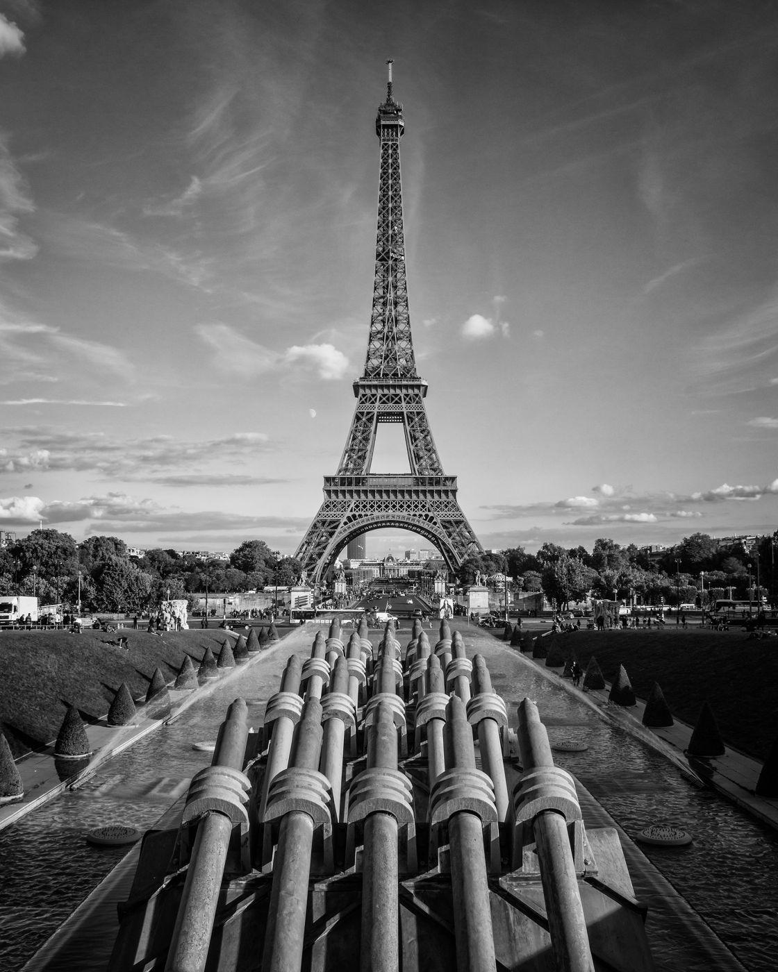 Tour Eiffel from Trocadéro, France