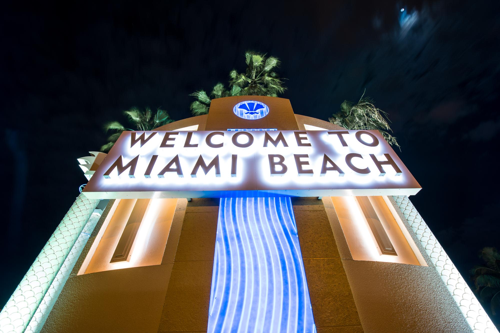 Welcome To Miami Beach, USA