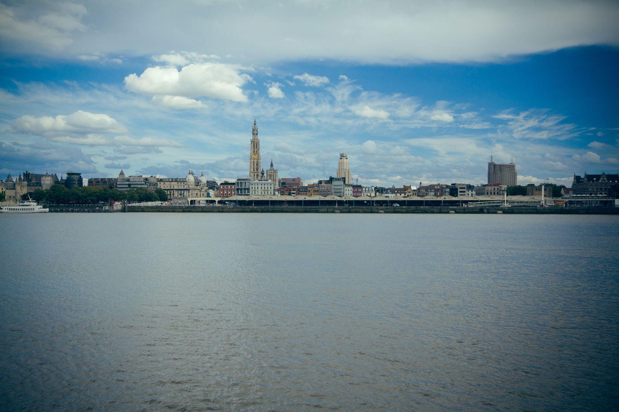 Antwerp City view, Belgium