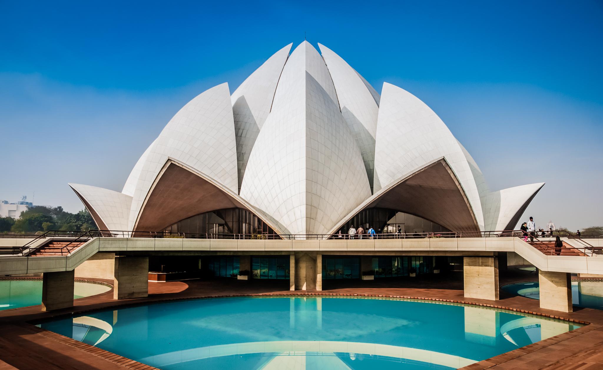 Bahi (Lotus) Temple, New Delhi, India