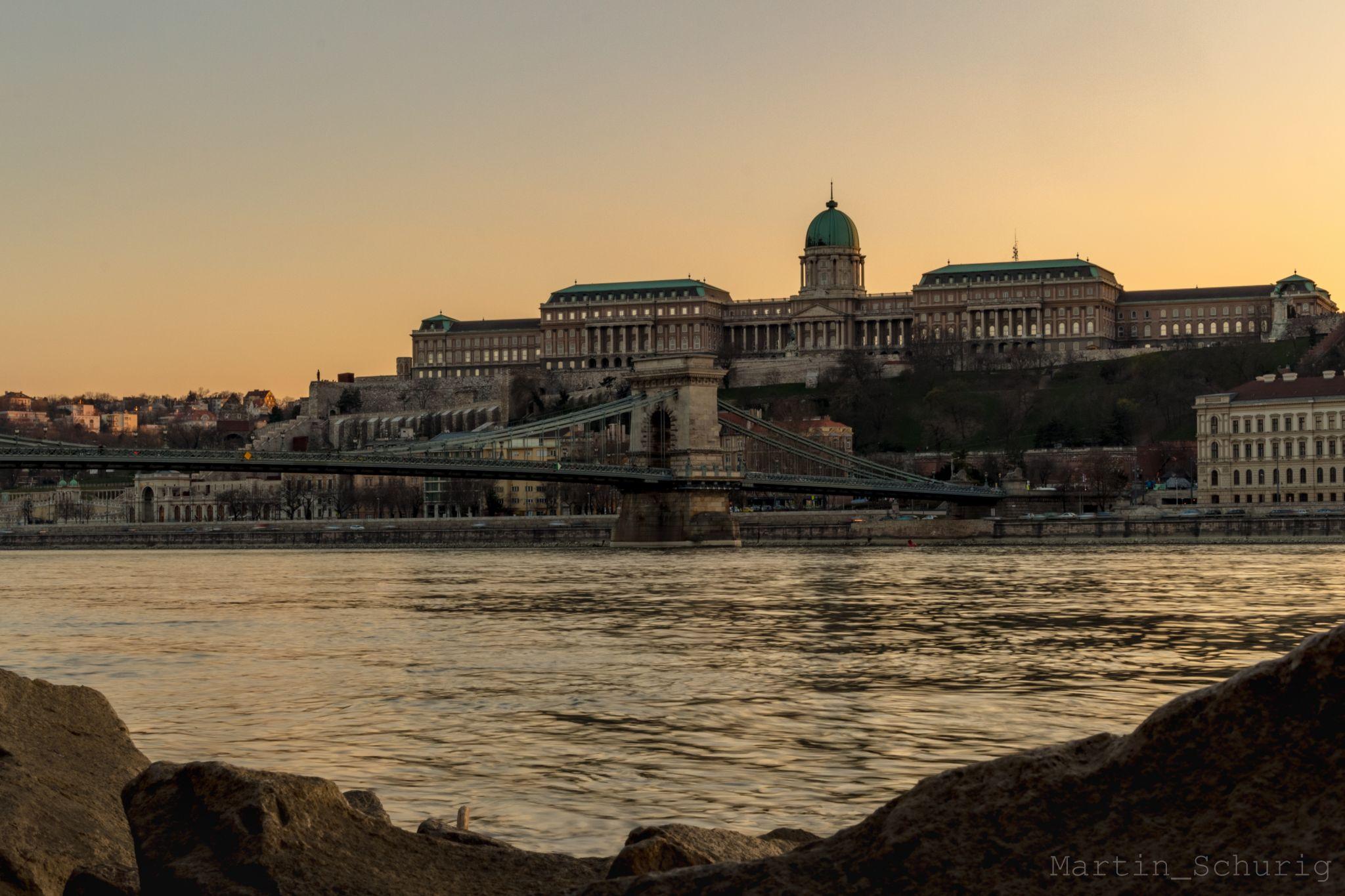 Buda Castle and Chain Bridge, Hungary