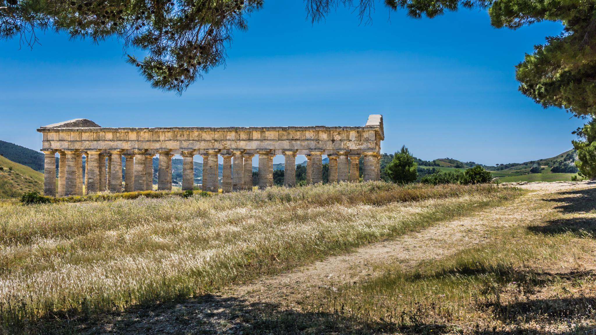 Doric Temple at Segesta, Italy