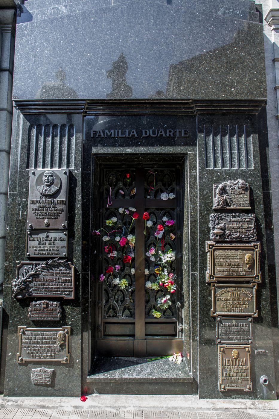 Evitas / Eva Perón's tomb, Argentina