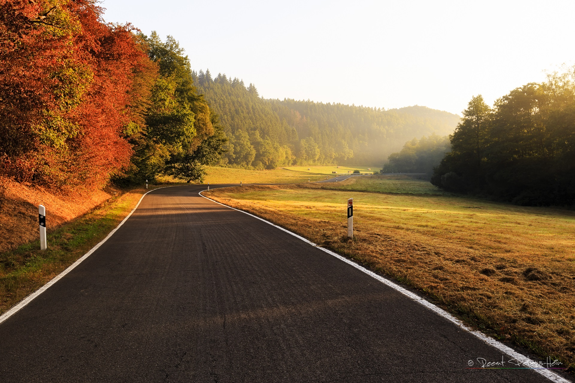 Road into the light, Germany
