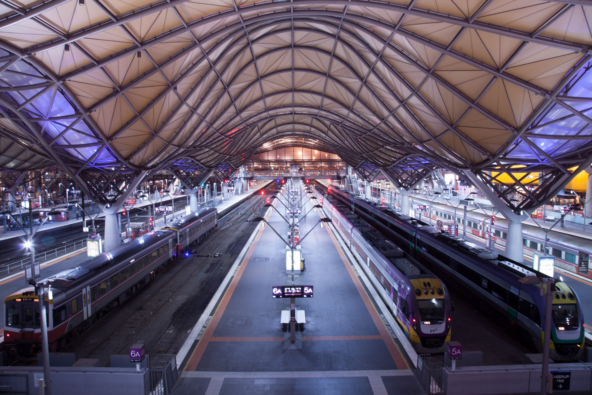 Southern Cross Train Station Melbourne, Australia