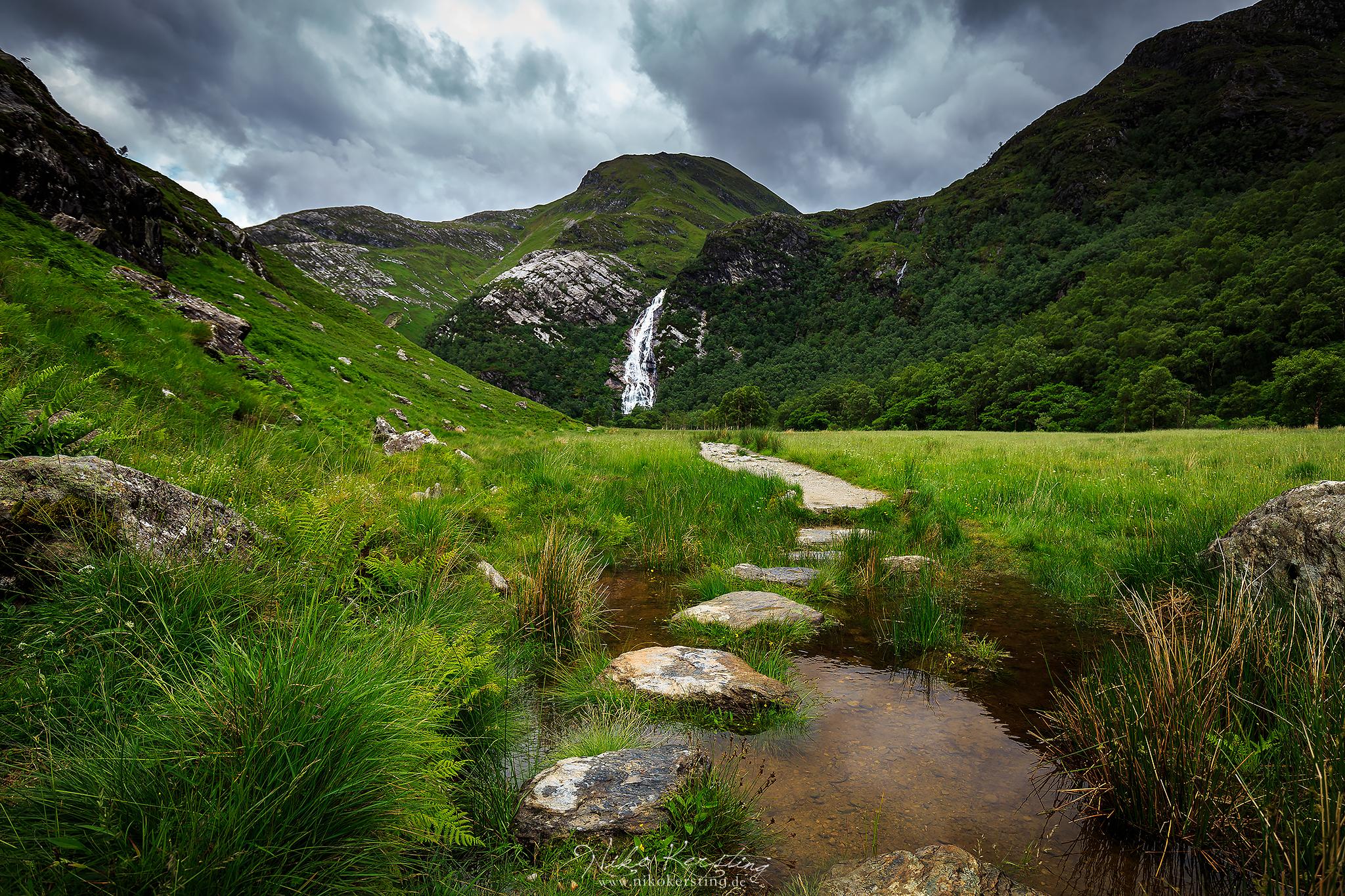 Steall Falls, United Kingdom