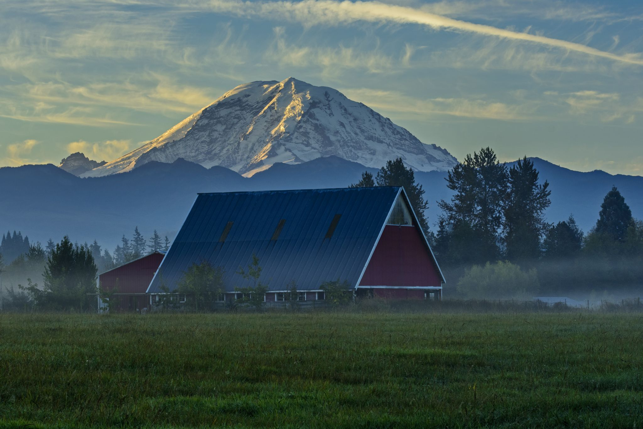 The Red Barn of Enumclaw, USA