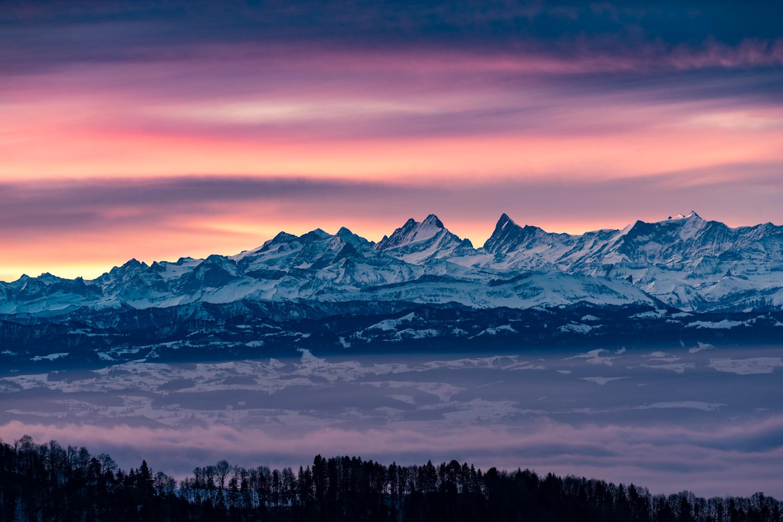 Vogelberg / Passwang, Switzerland