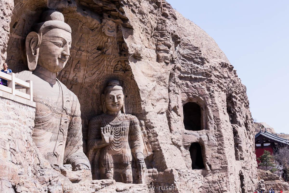 Yungang-Grotten, China