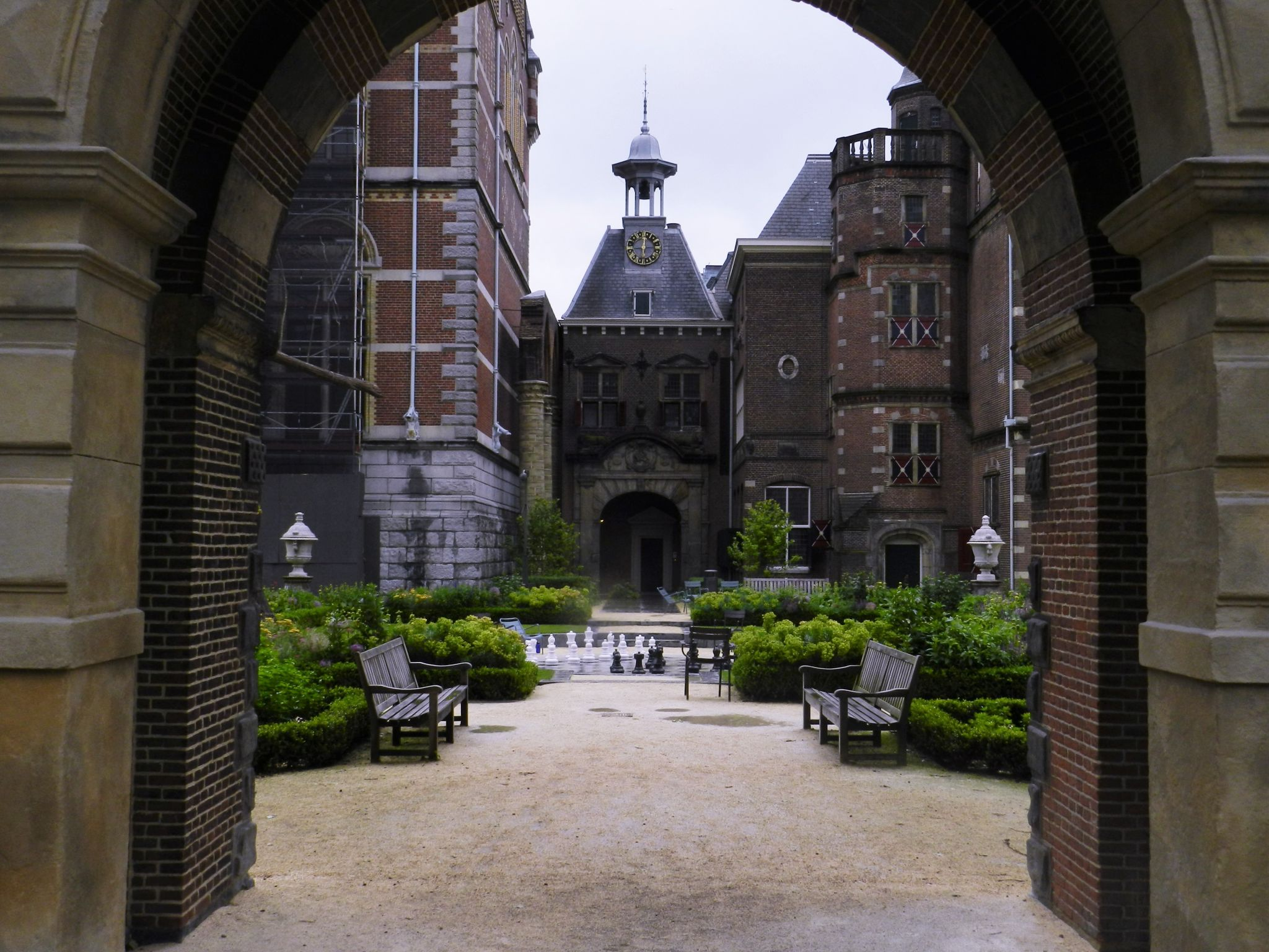 A game of chess, Netherlands