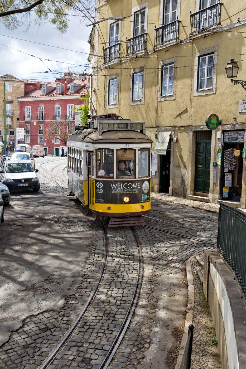 Eléctricos de Lisboa, Portugal